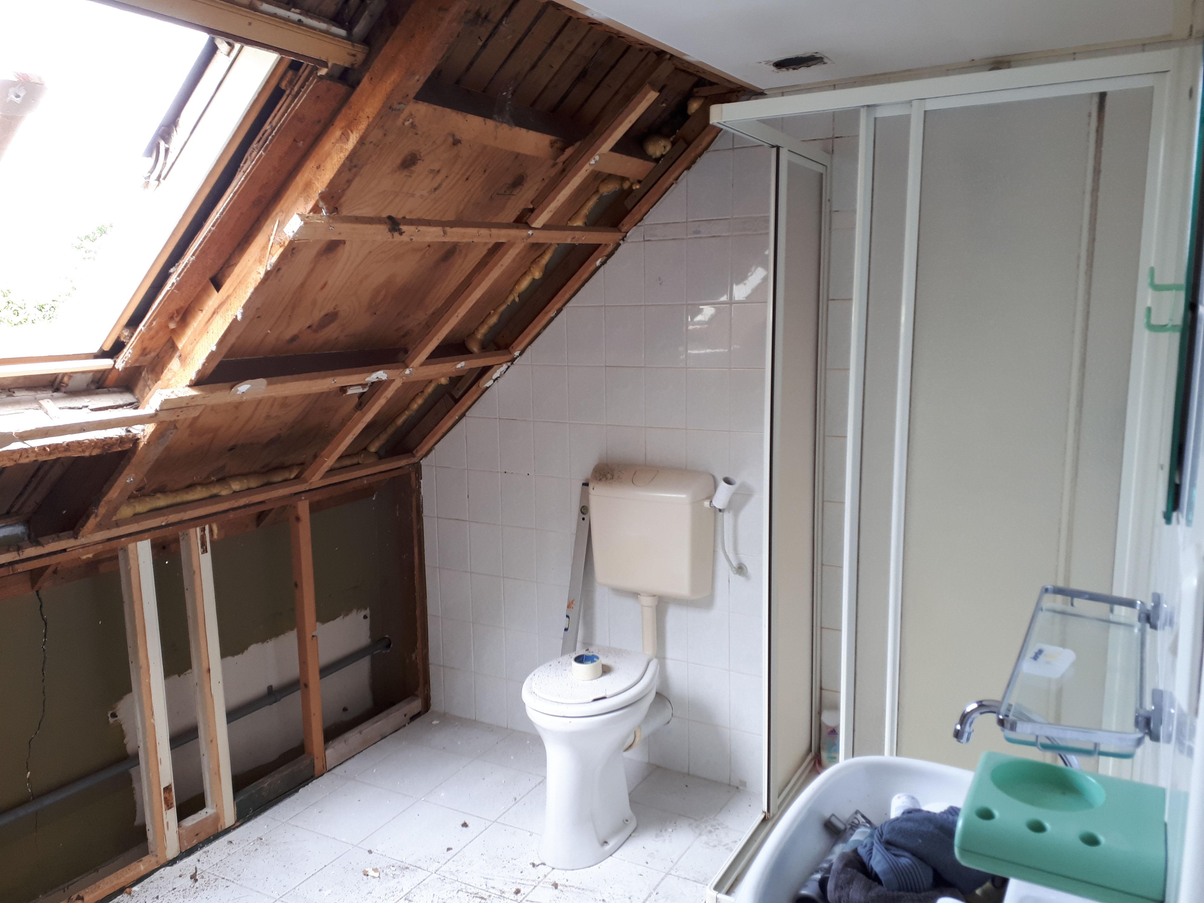 Badkamer Met Dakkapel : Plaatsen dakkapel nieuwe badkamer te kwadendamme j f peeters zn