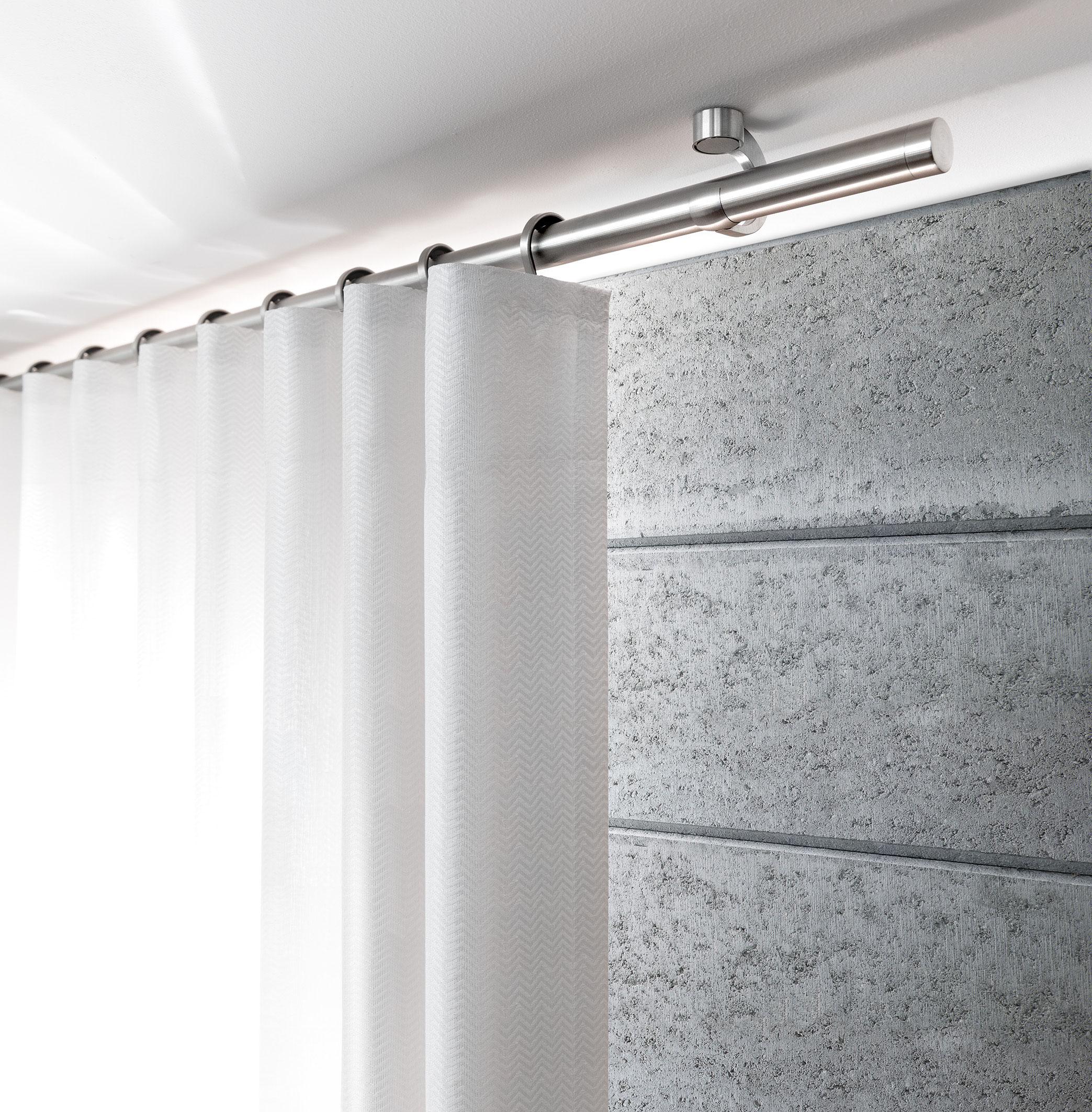 Gardinenstange Modern gardinenstangen westerwald modern puristisch aber auch klassisch