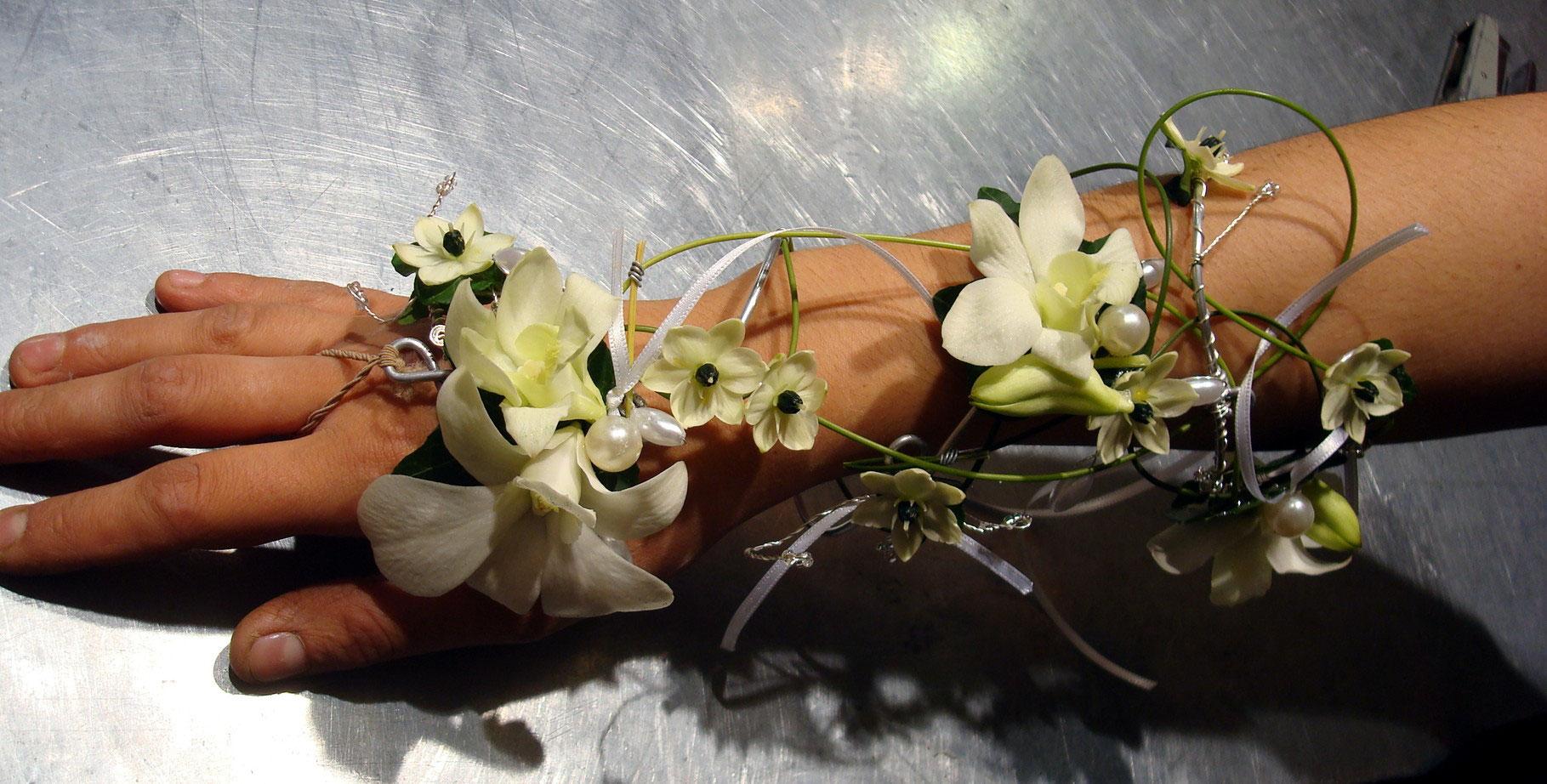 Bijoux floraux des fleurs des fleurs etc for Vente de fleurs en ligne