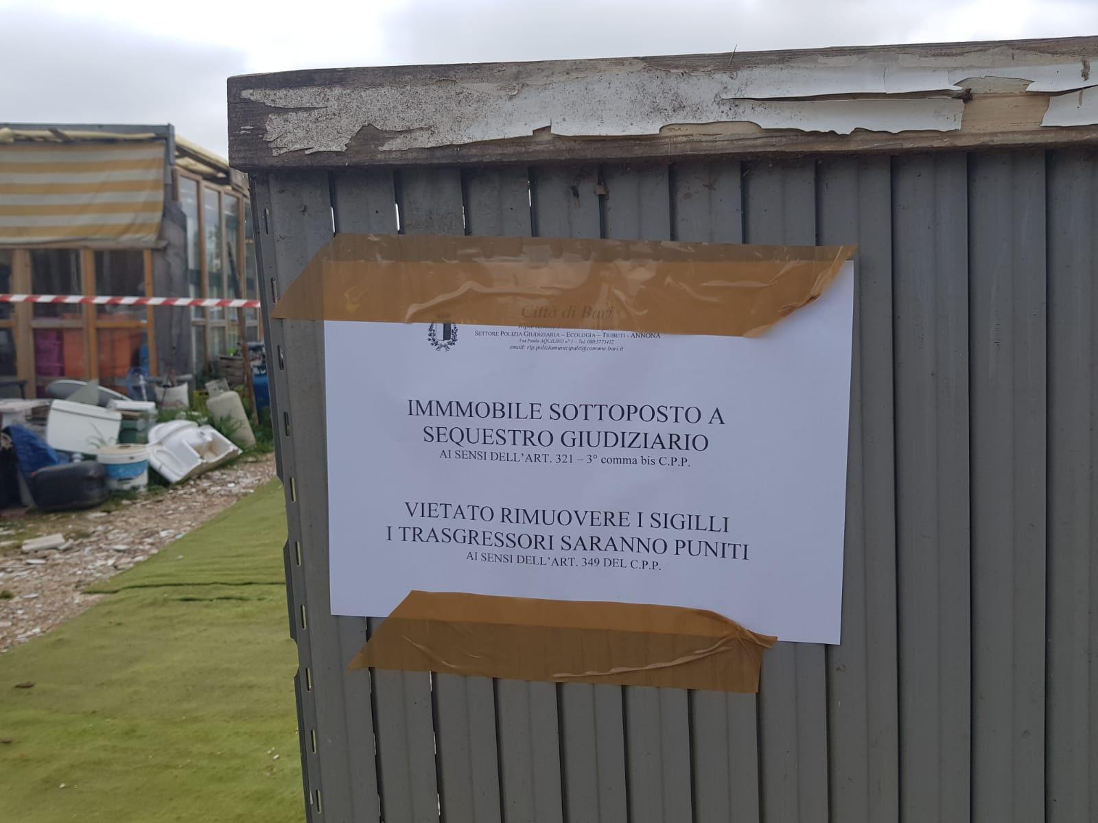 Carbonara Di Bari Storia carbonara, sequestrata discarica abusiva - benvenuti su