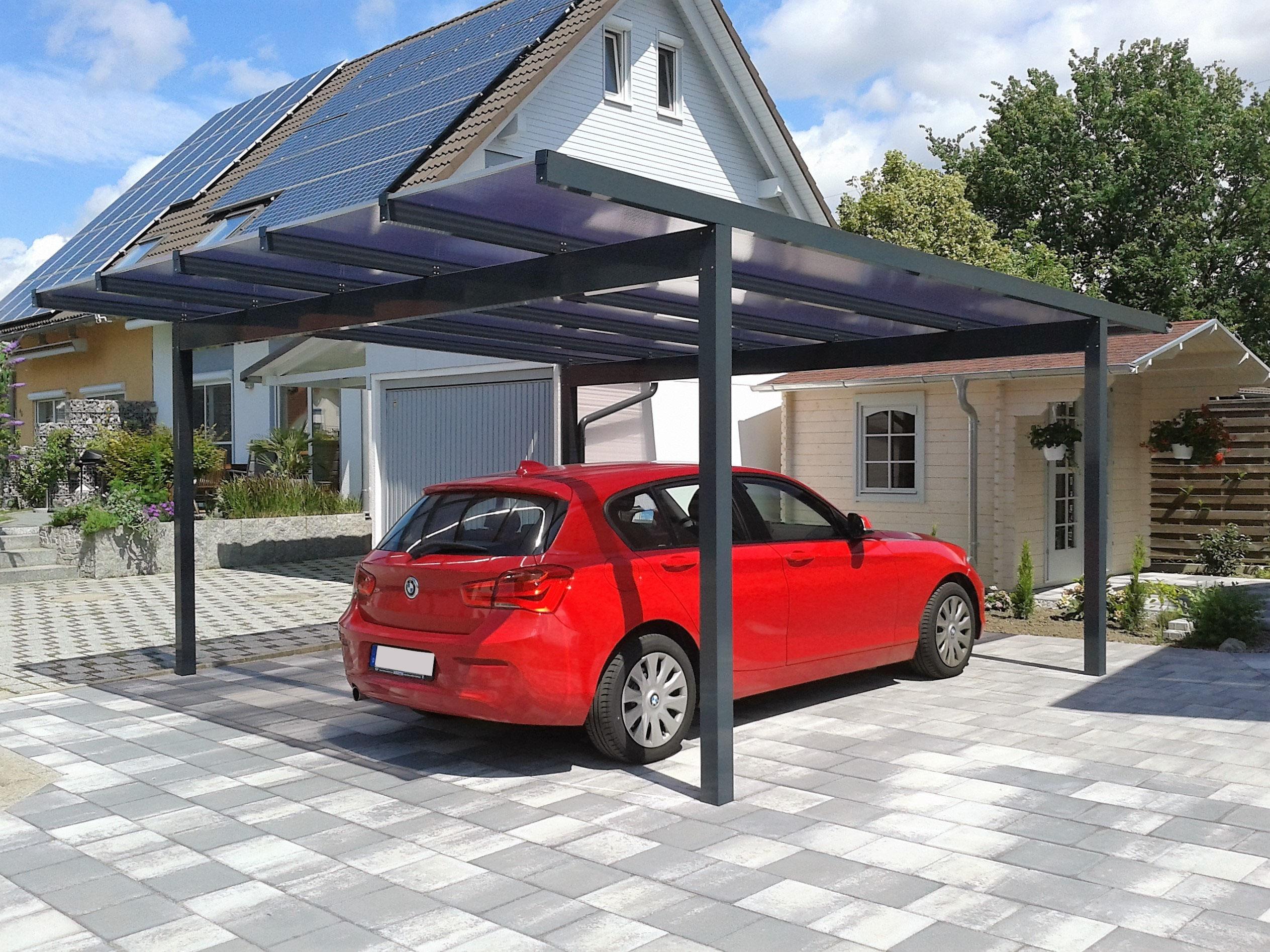 carports aus aluminium alucarports carportfabrik. Black Bedroom Furniture Sets. Home Design Ideas