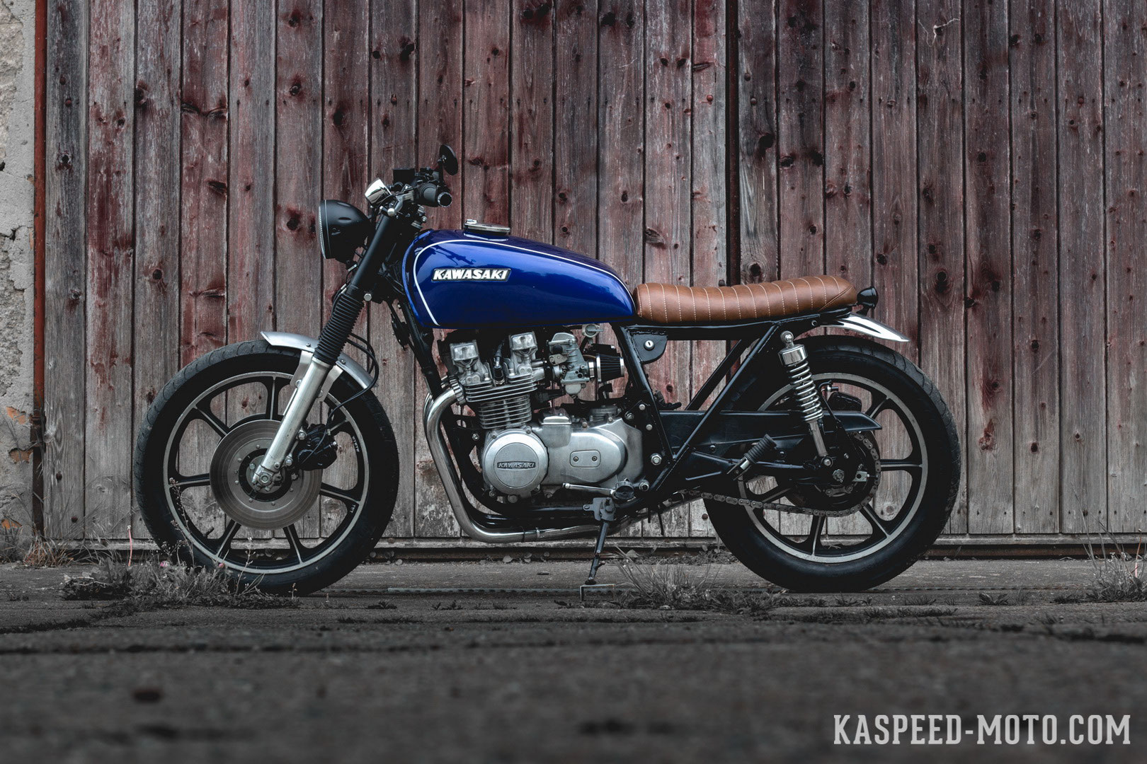 Kawasaki Z650b Kaspeed Custom Motorcycles Cafe Racer