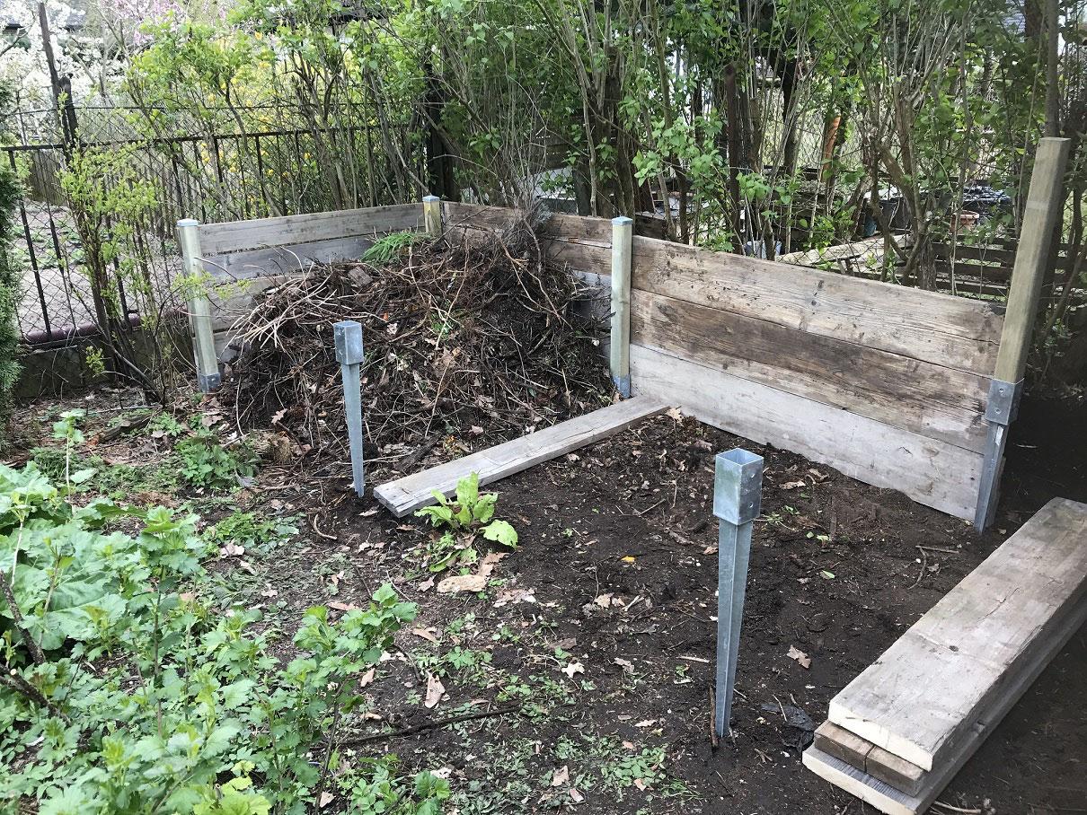 errichten eines komposthaufens - garten-haus-froemmings webseite!