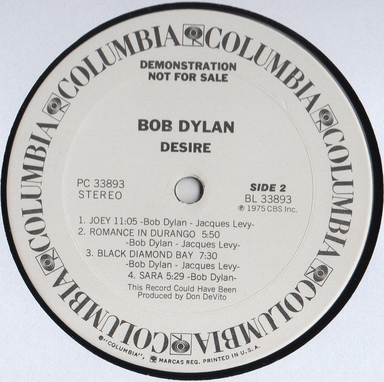 Bob Dylan - analogalbumss Webseite!