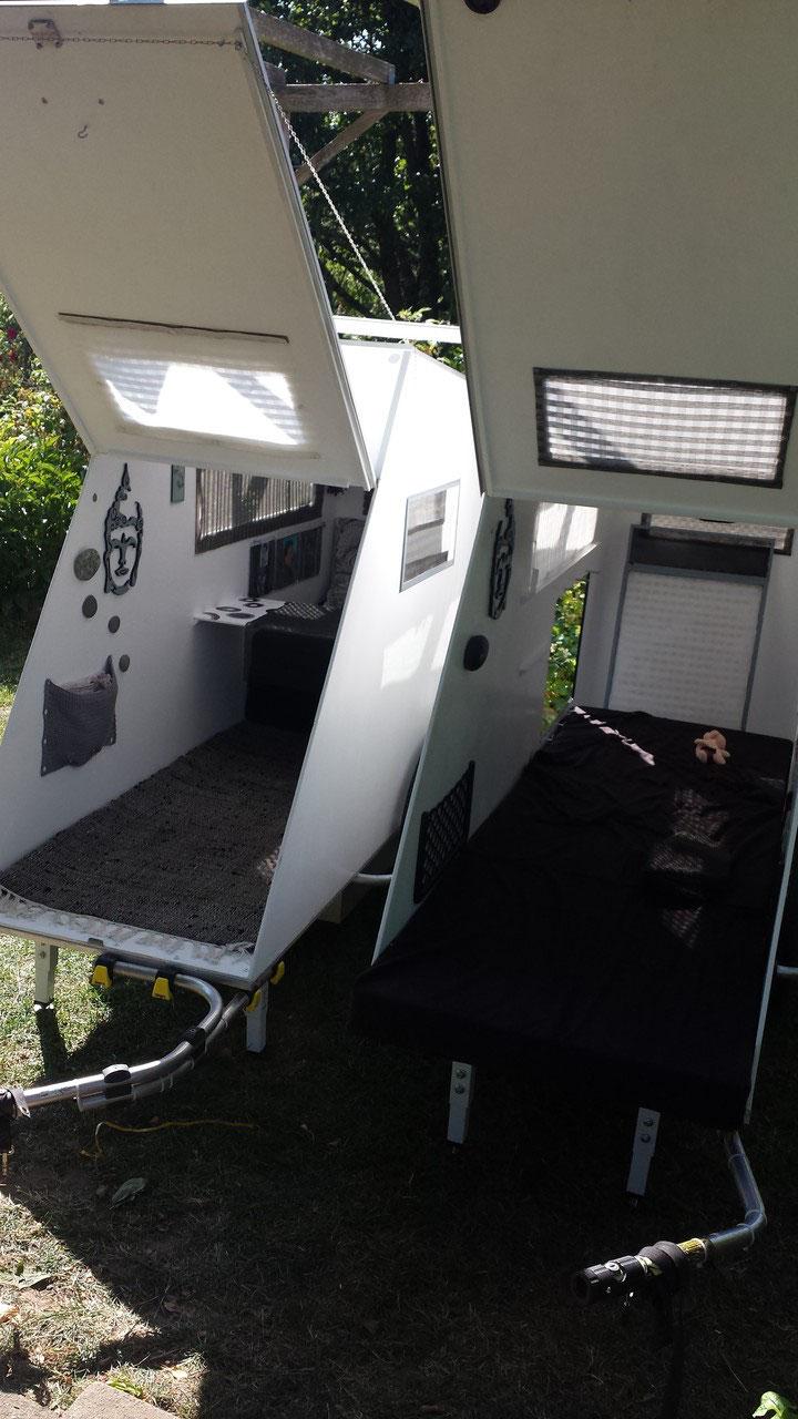 rollende freiheit f r unser abenteuer wohnwagen f r 39 s. Black Bedroom Furniture Sets. Home Design Ideas