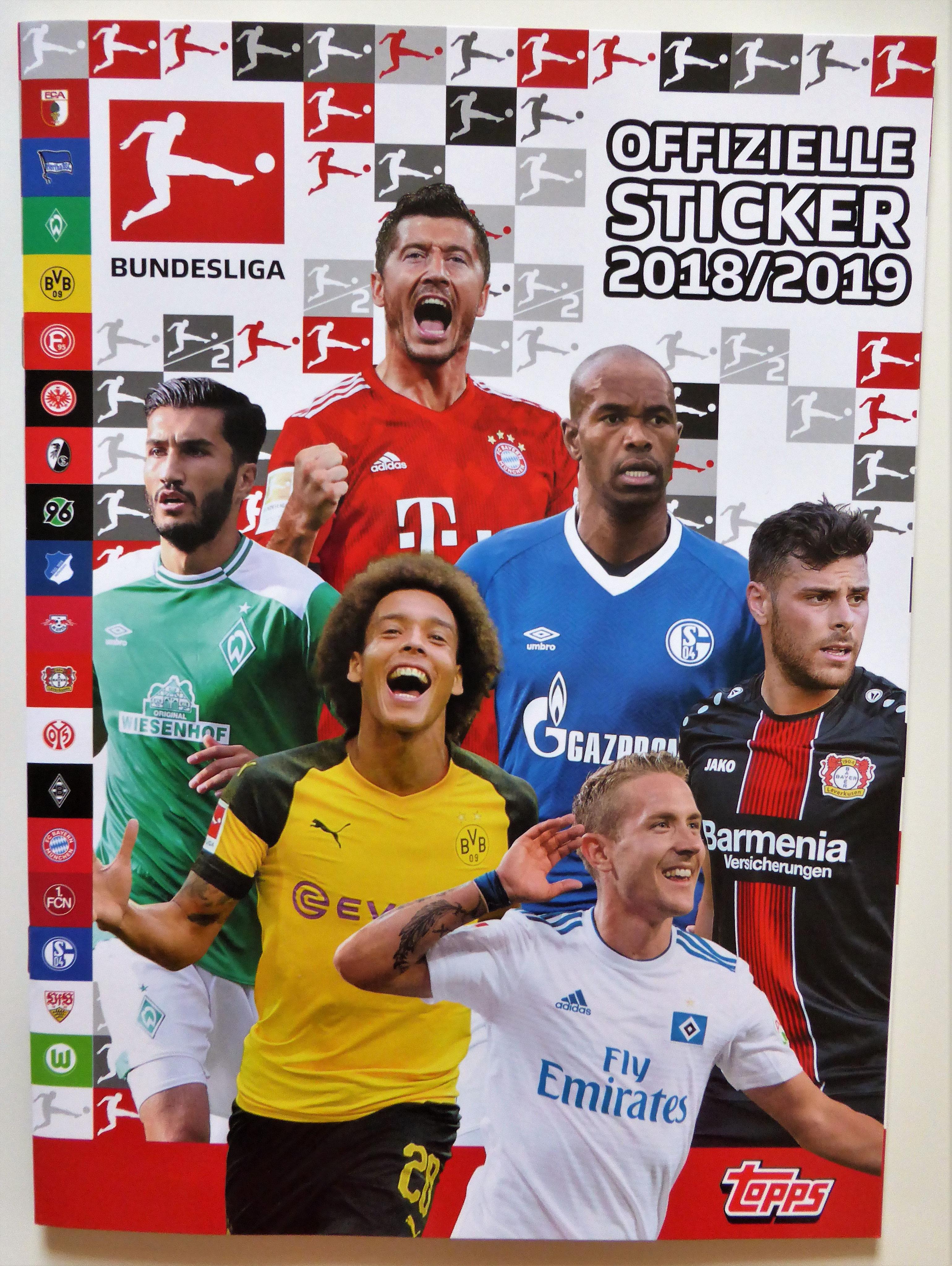 TOPPS Bundesliga 2018//2019 Sticker 188 Michael Lang