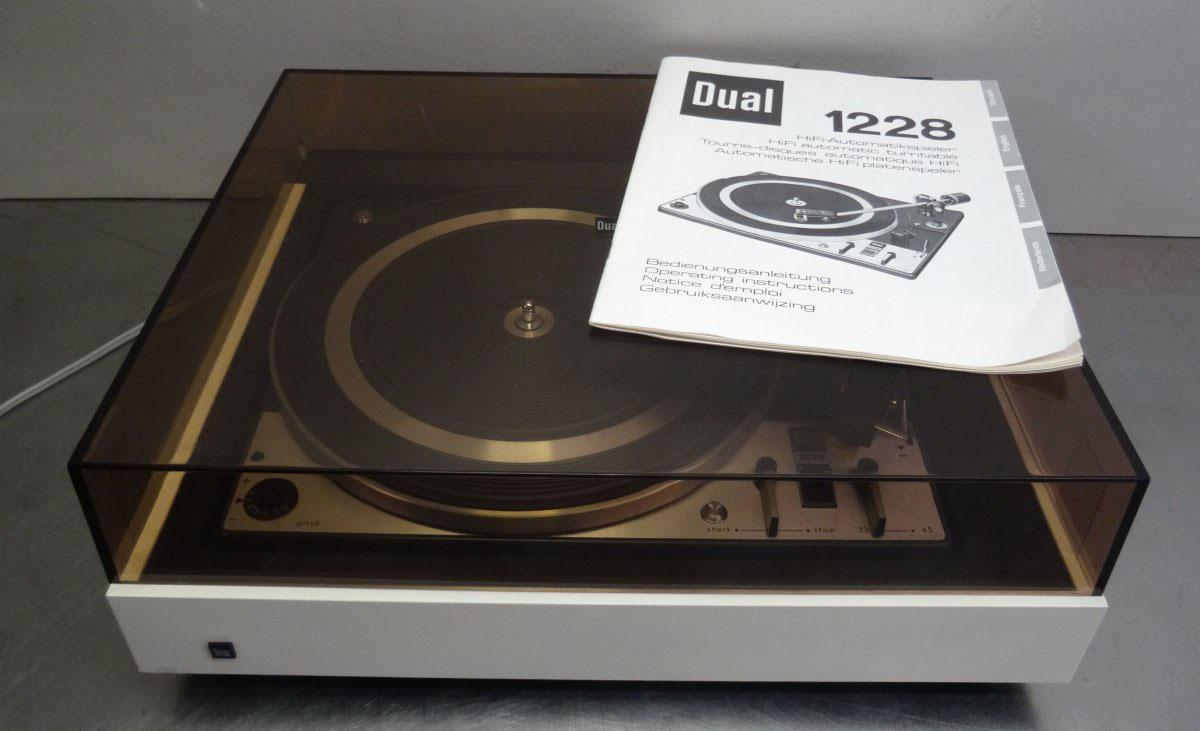 Wybitny DUAL CS 1228 - Alfreds good vinyl homepage Schallplatten MG55