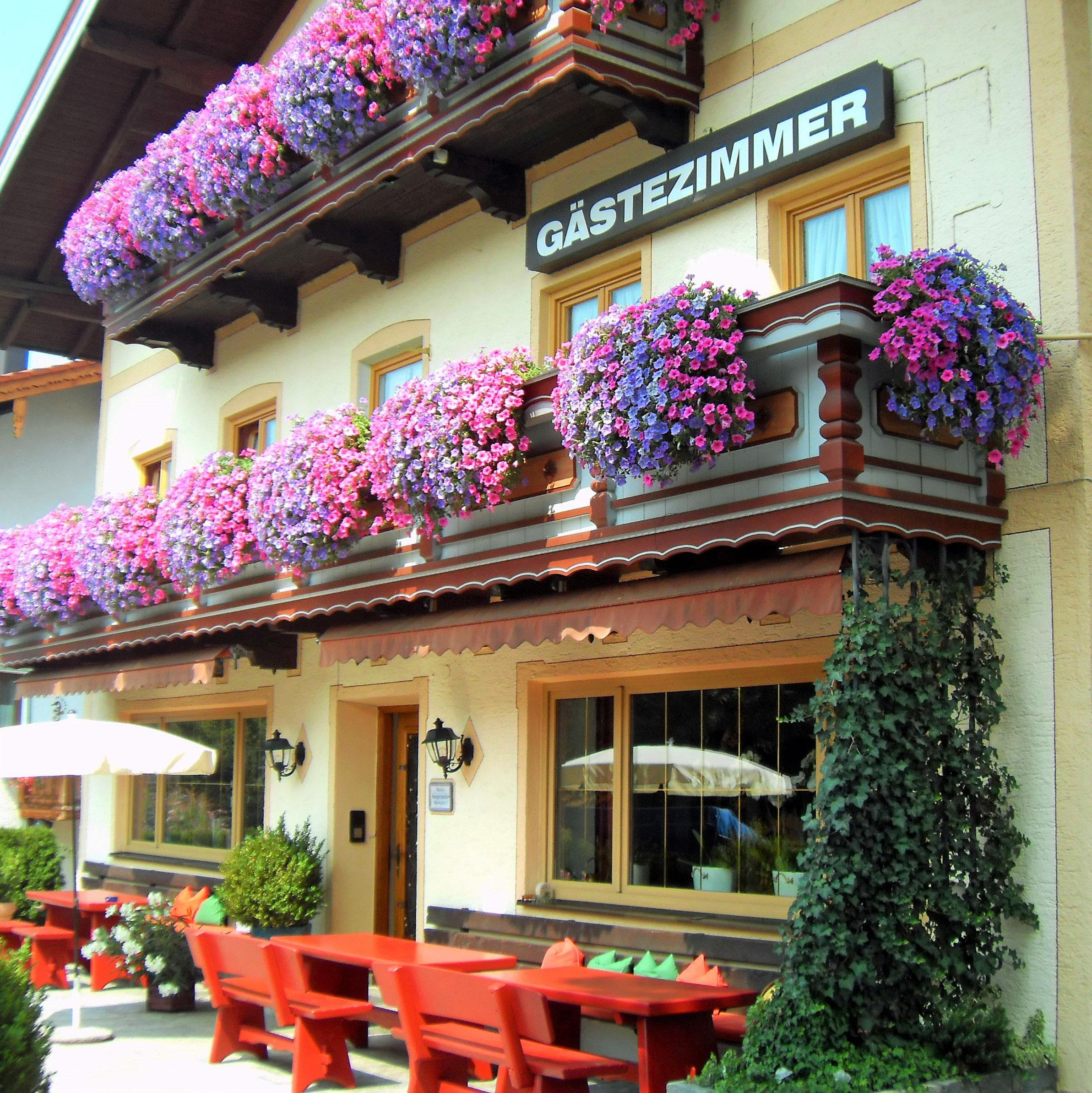Haus Seeblick Hotel Garni Ferienwohnungen: Pension Langerspacher Chiemsee Hotel Grabenstätt Zimmer
