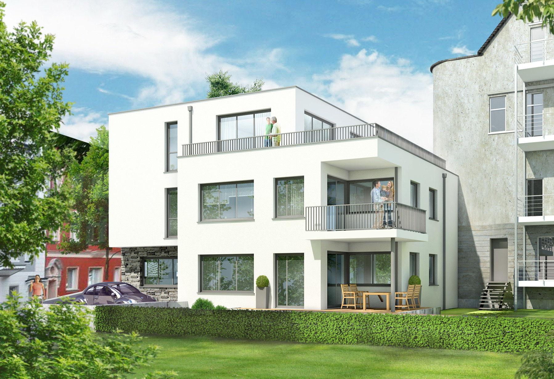 Holzhausbau duisburg griess osten architektur - Architekt duisburg ...