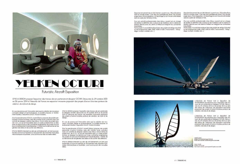 Press overview - OCTURI - Design & Interior, Fictional