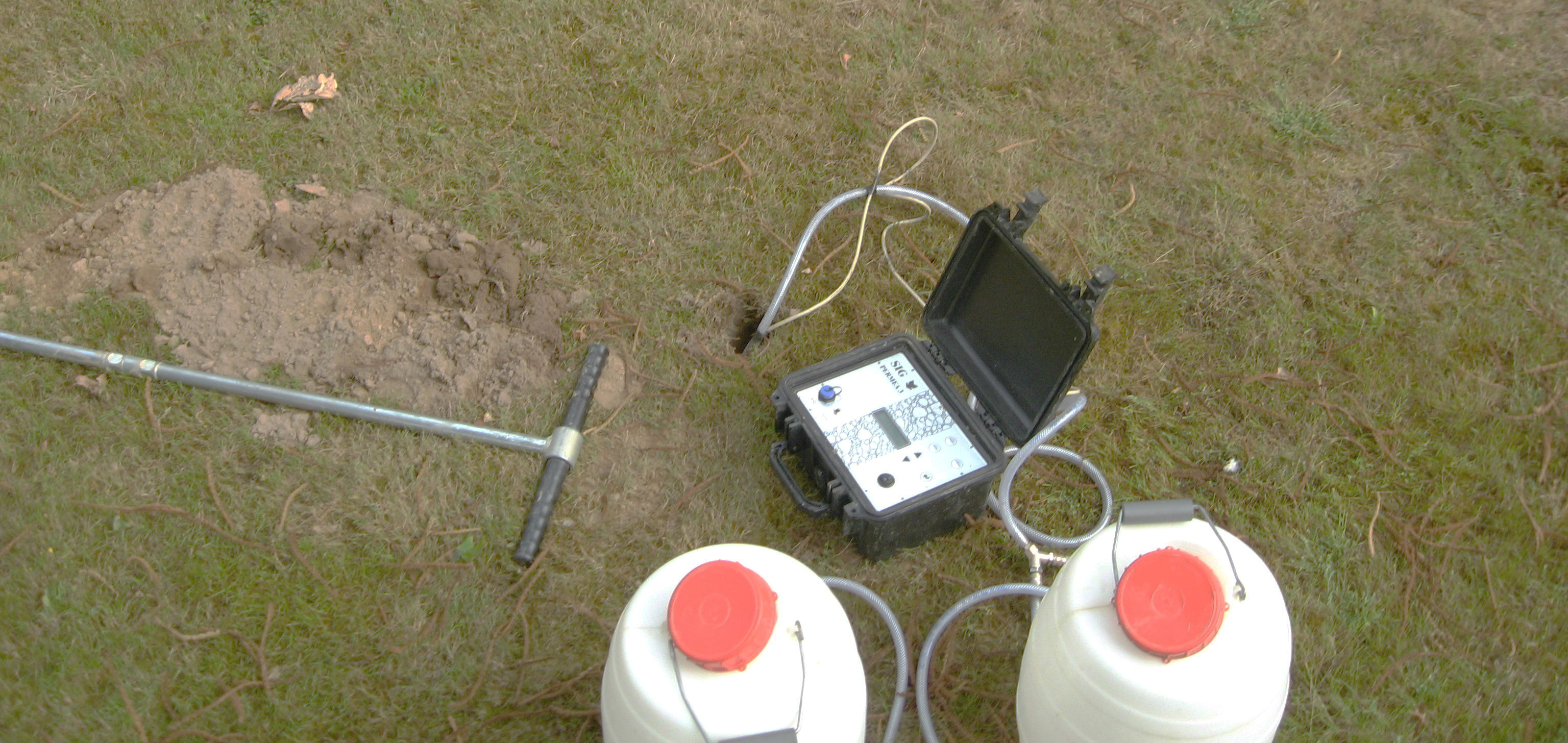 Percolation Test In Borehole Porchet Infiltration