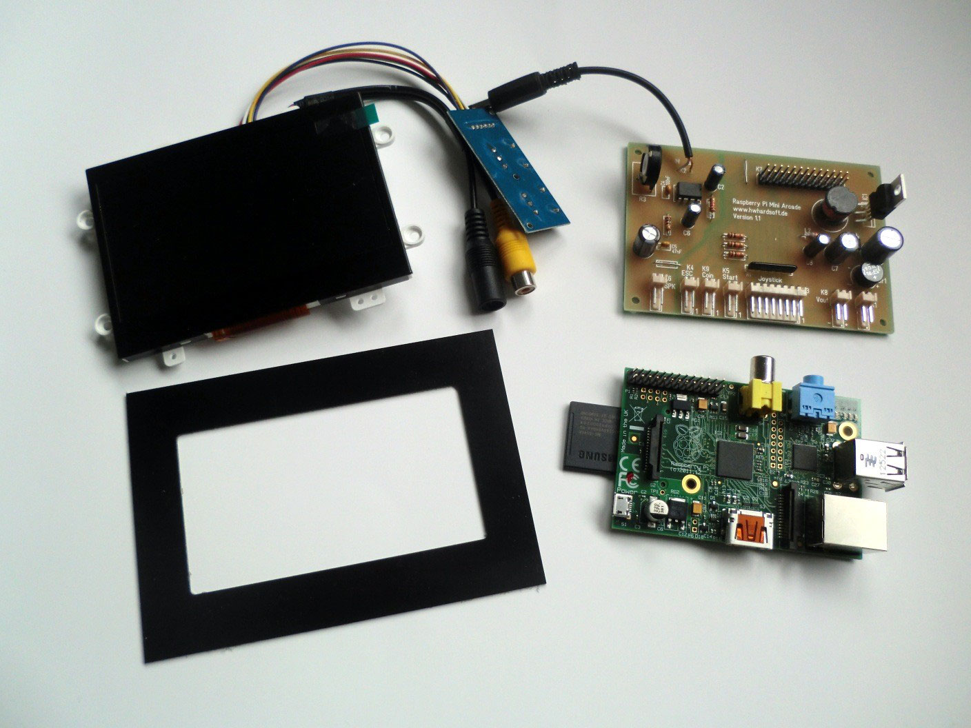 Raspberry Pi Mini Arcade Cabinet Accessories For And Electrical Projects Circuits Arduino