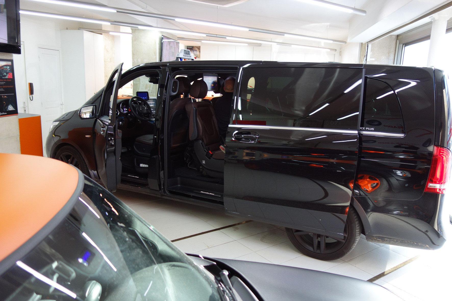 installation sur mercedes class v crans et alarme installation hifi automobile paris. Black Bedroom Furniture Sets. Home Design Ideas