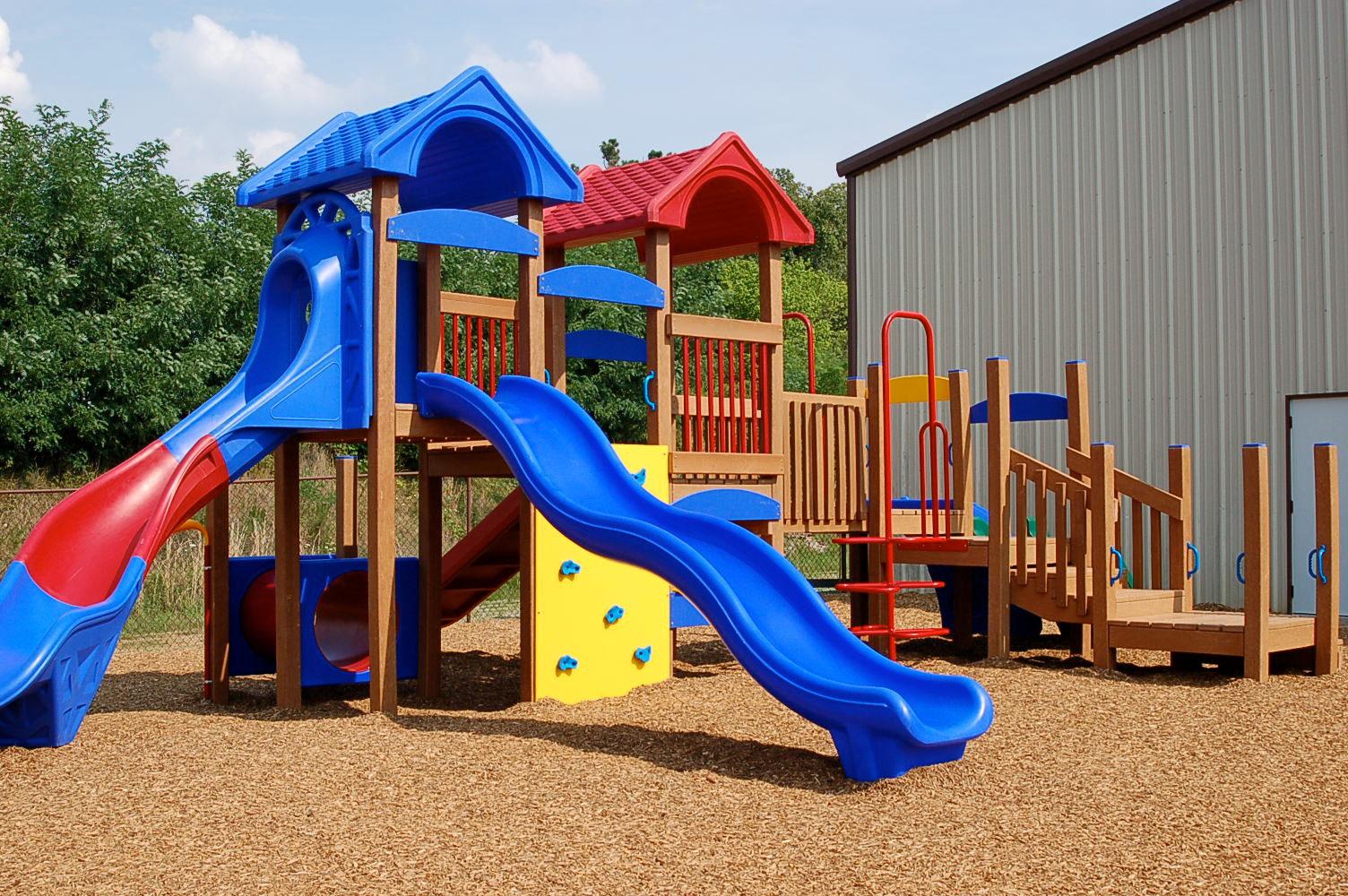 Parques infantiles ecol gicos y mobiliario p gina web de - Construir parque infantil ...