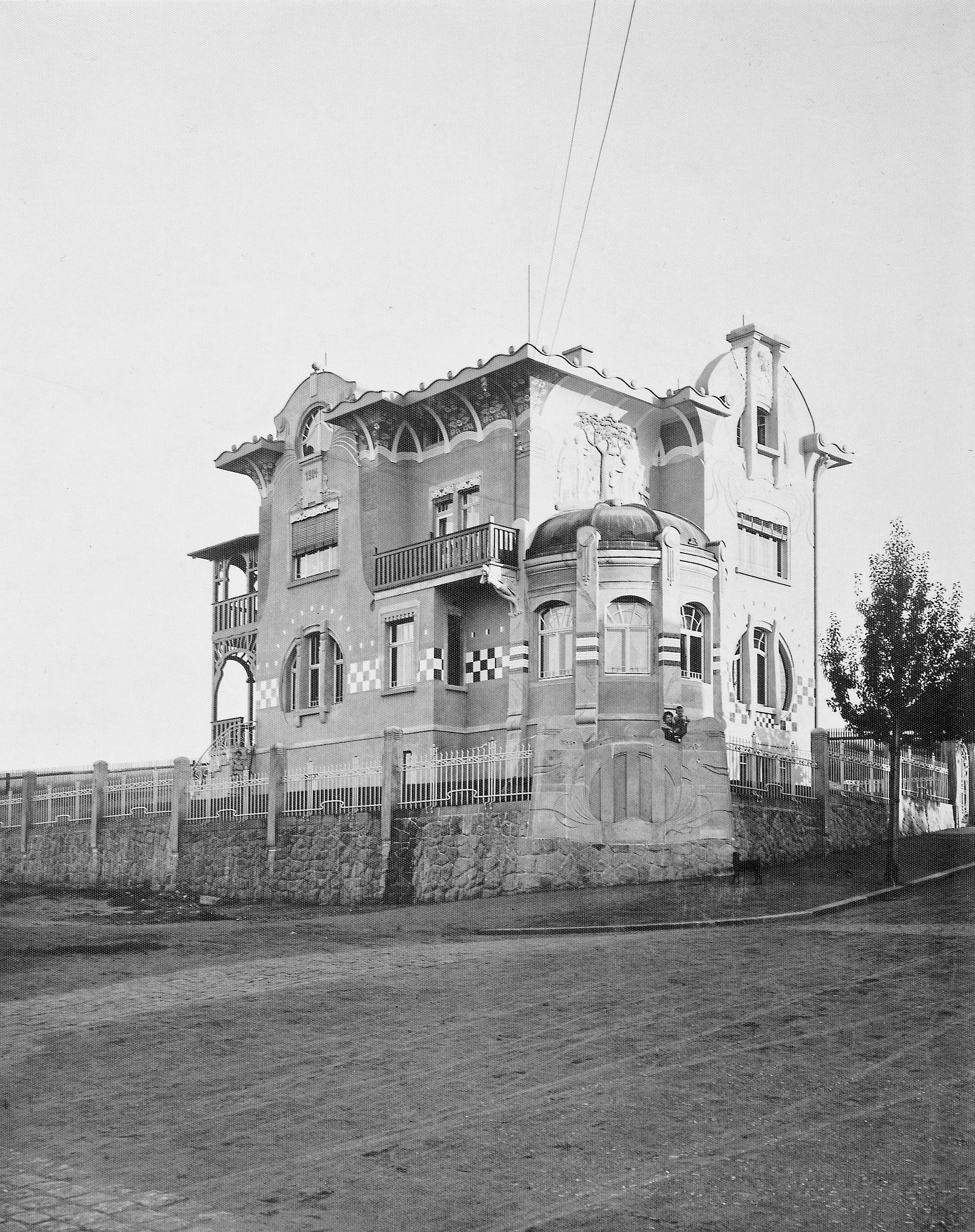 Villa Westendstraße 21 - hausgeschichten-dresden Webseite