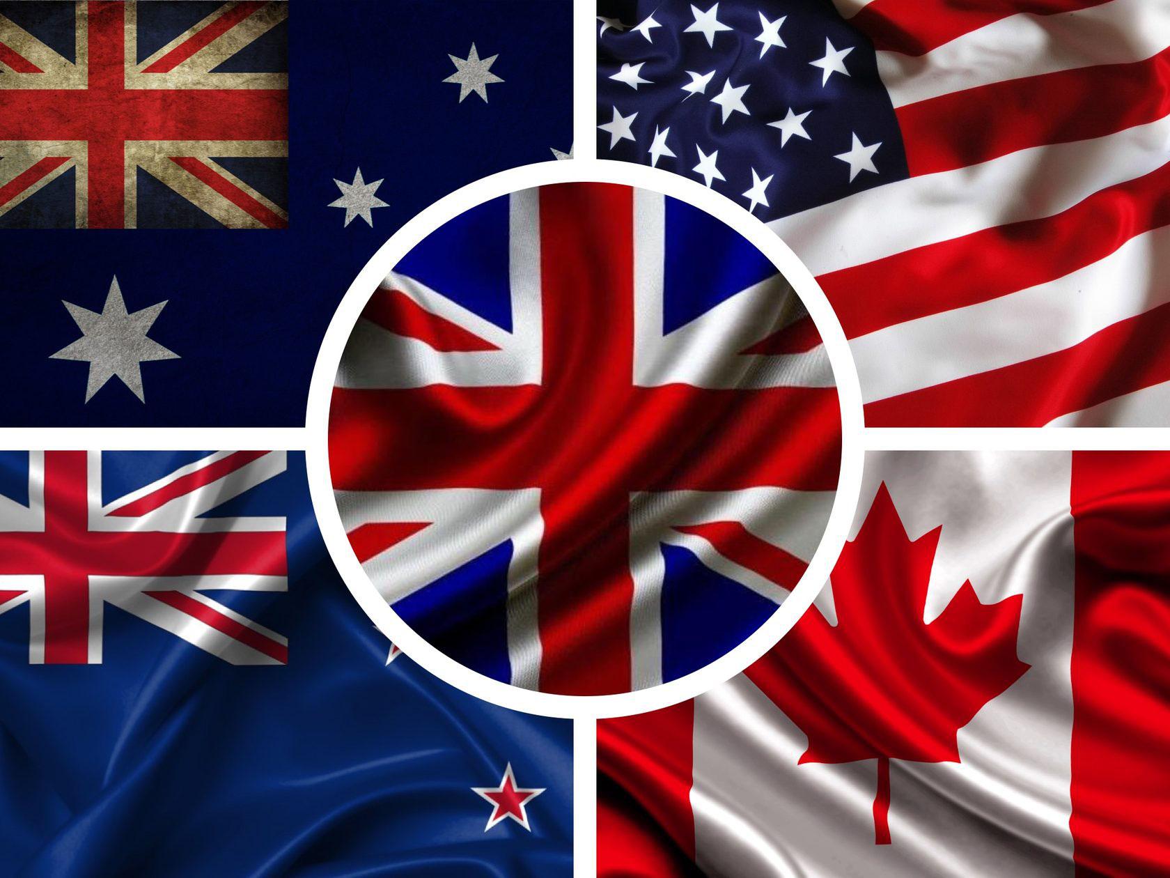 флаги англоязычных стран фото список предприятий, которые