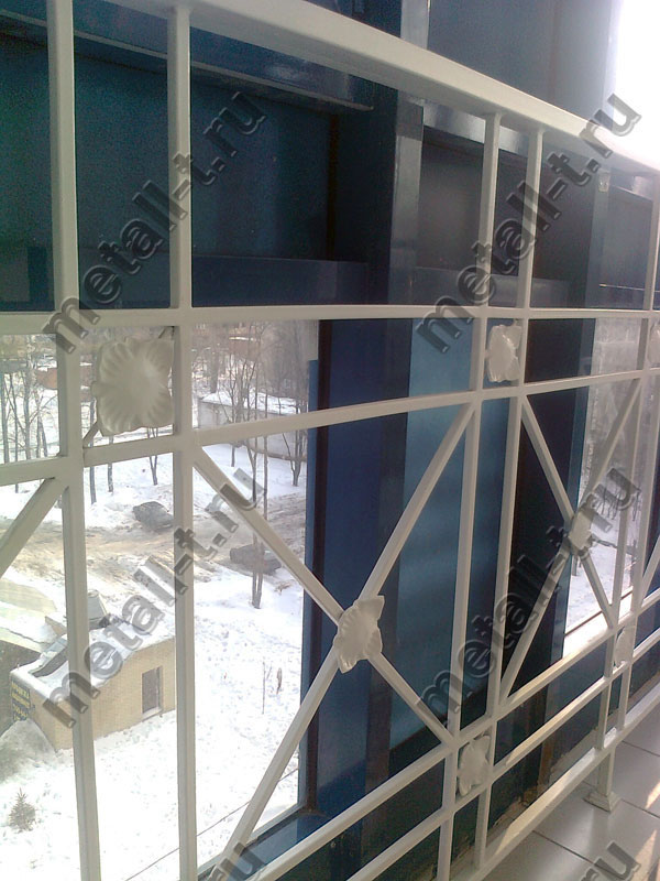 Ограждения для балкона с панорамным остеклением - ограждения.