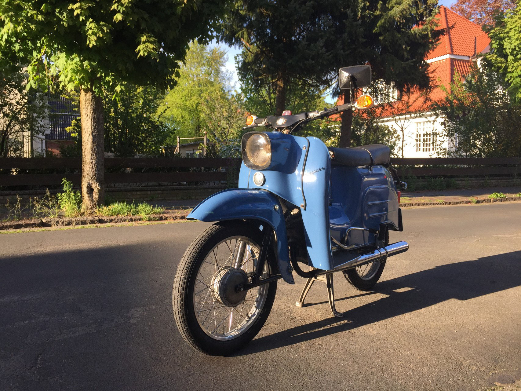 Alte Mopeds
