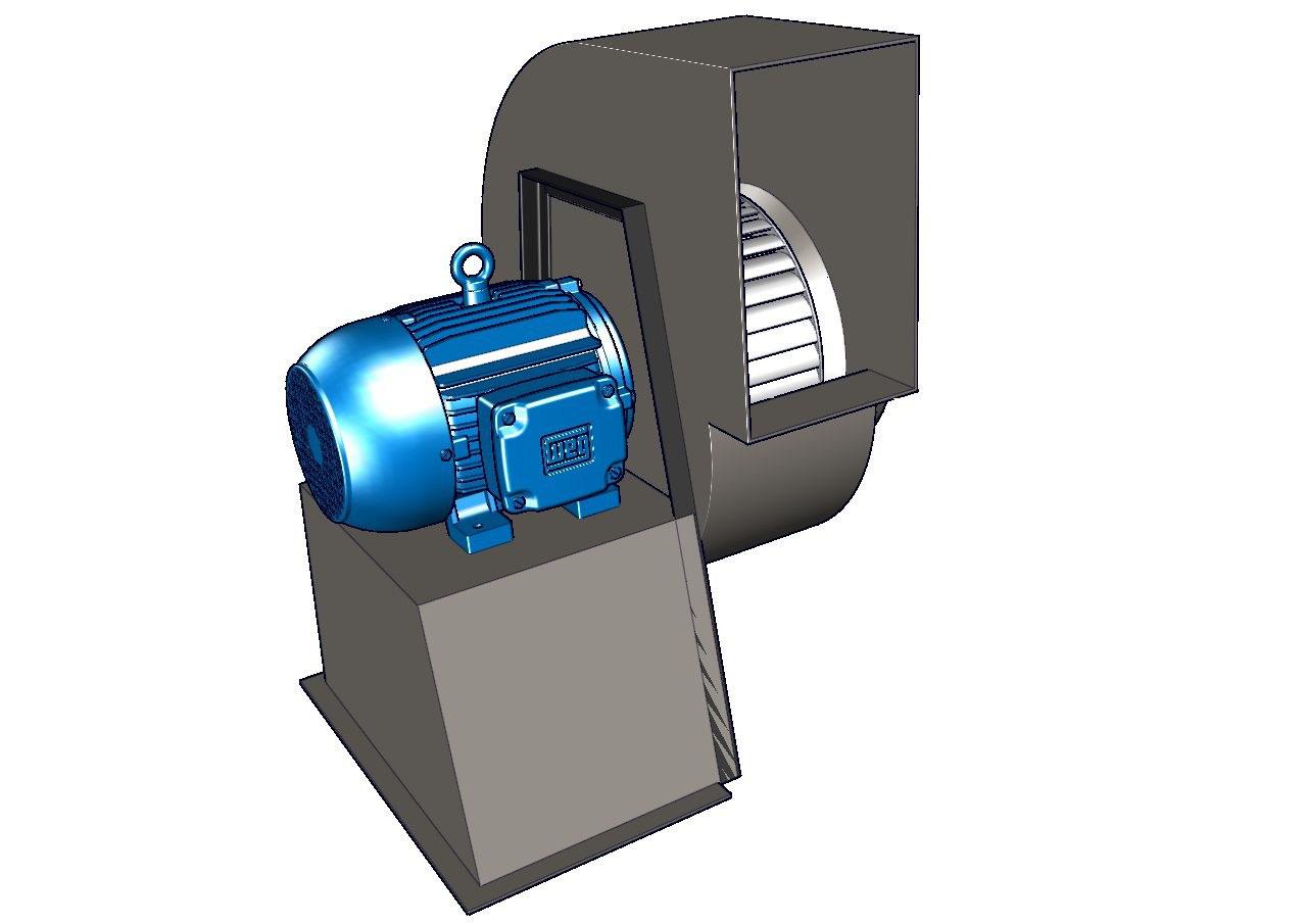 Extractores tipo jaula de ardilla ventiladores for Ventiladores de pared baratos