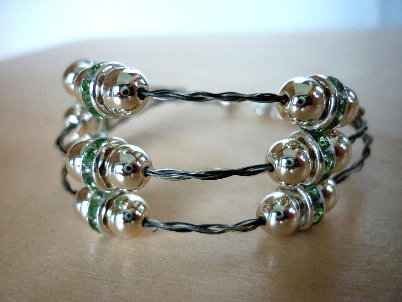 Pferdehaar Armbänder Armbänder mit Perlen