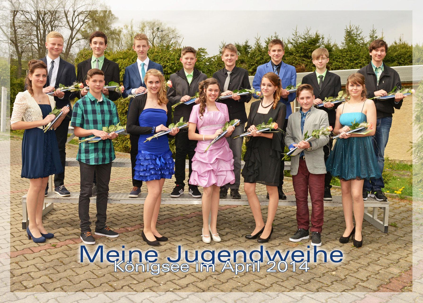 Jugendweihe Fotos