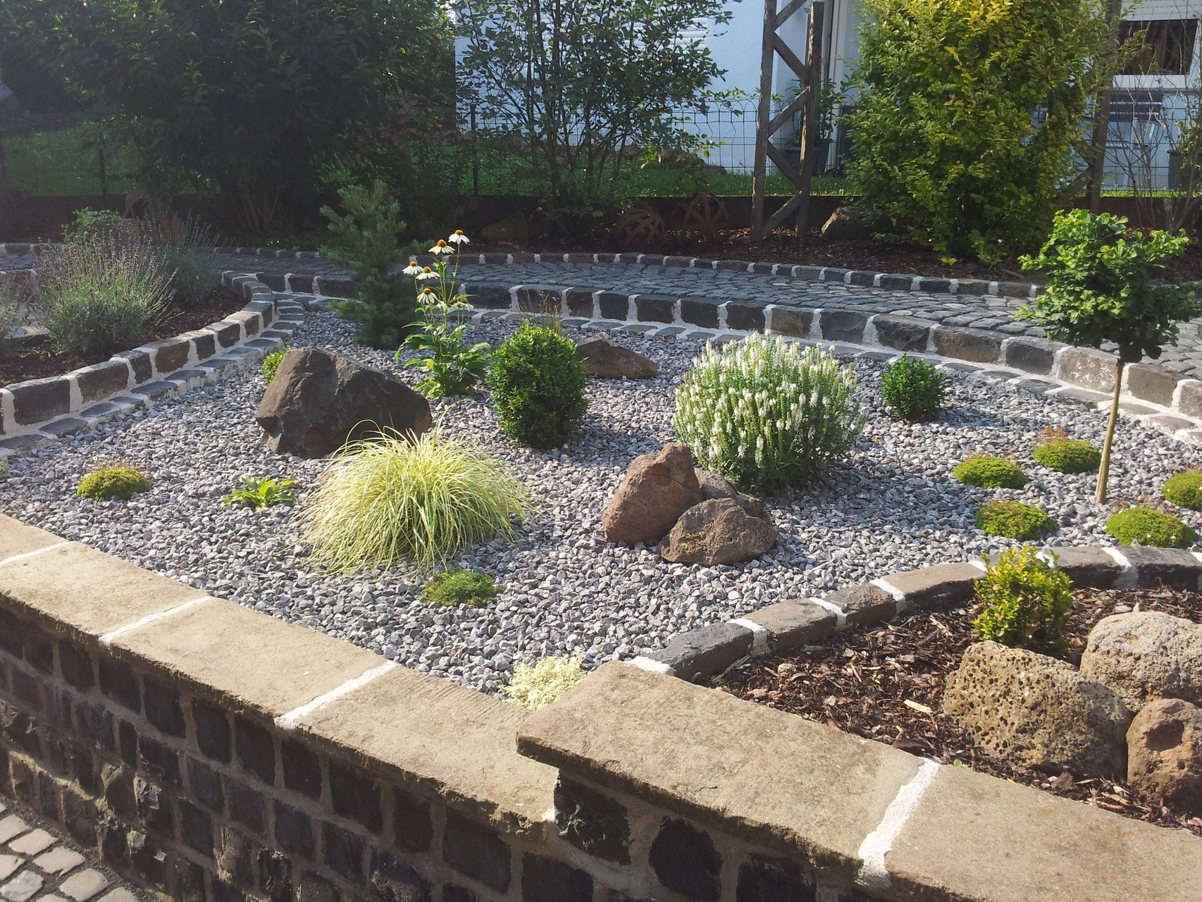 Beete rabatten gartengestaltung saliger for Gartengestaltung app