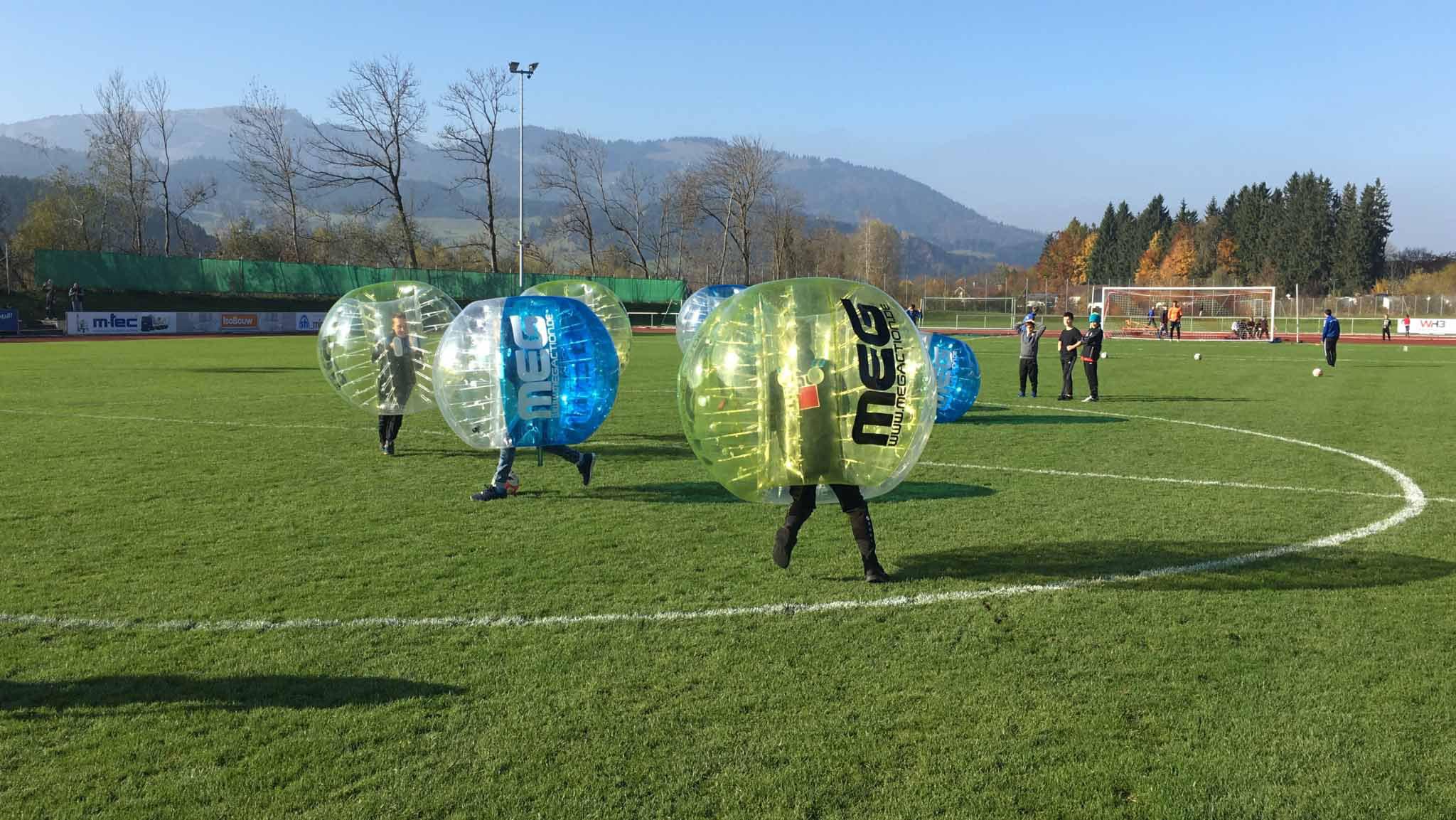 Bubble Soccer Frankfurt