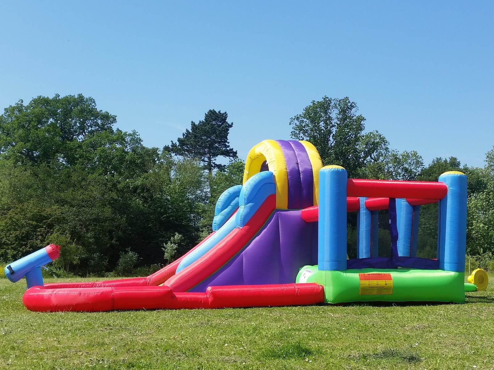 Waterpark Bouncy Castle Hire Malta And Gozo