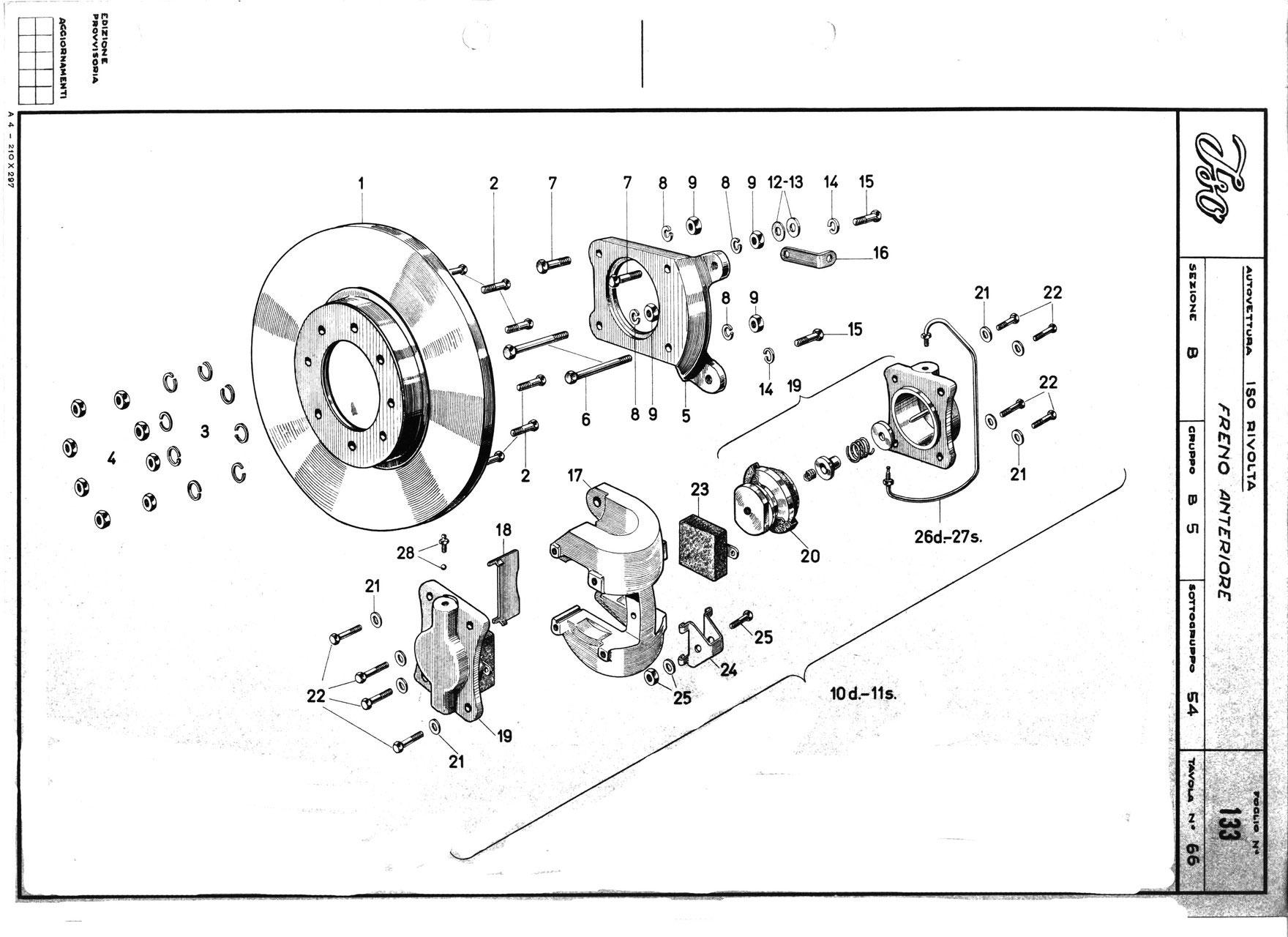 dunlop front brake frontbremse