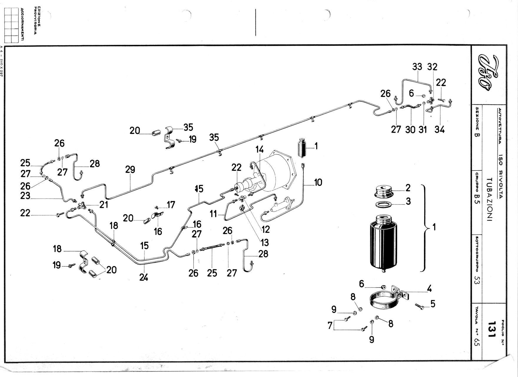 bremsschl uche brake hoses iso rivolta club deutschland. Black Bedroom Furniture Sets. Home Design Ideas