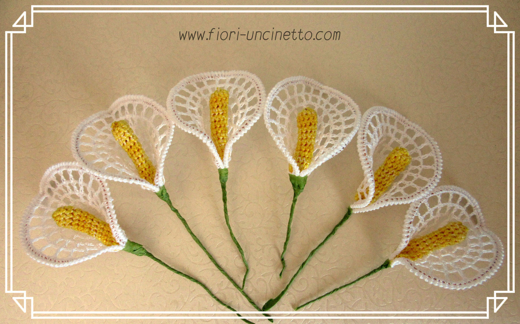 Video Tutorial Fiori Alluncinetto Crochet Flowers