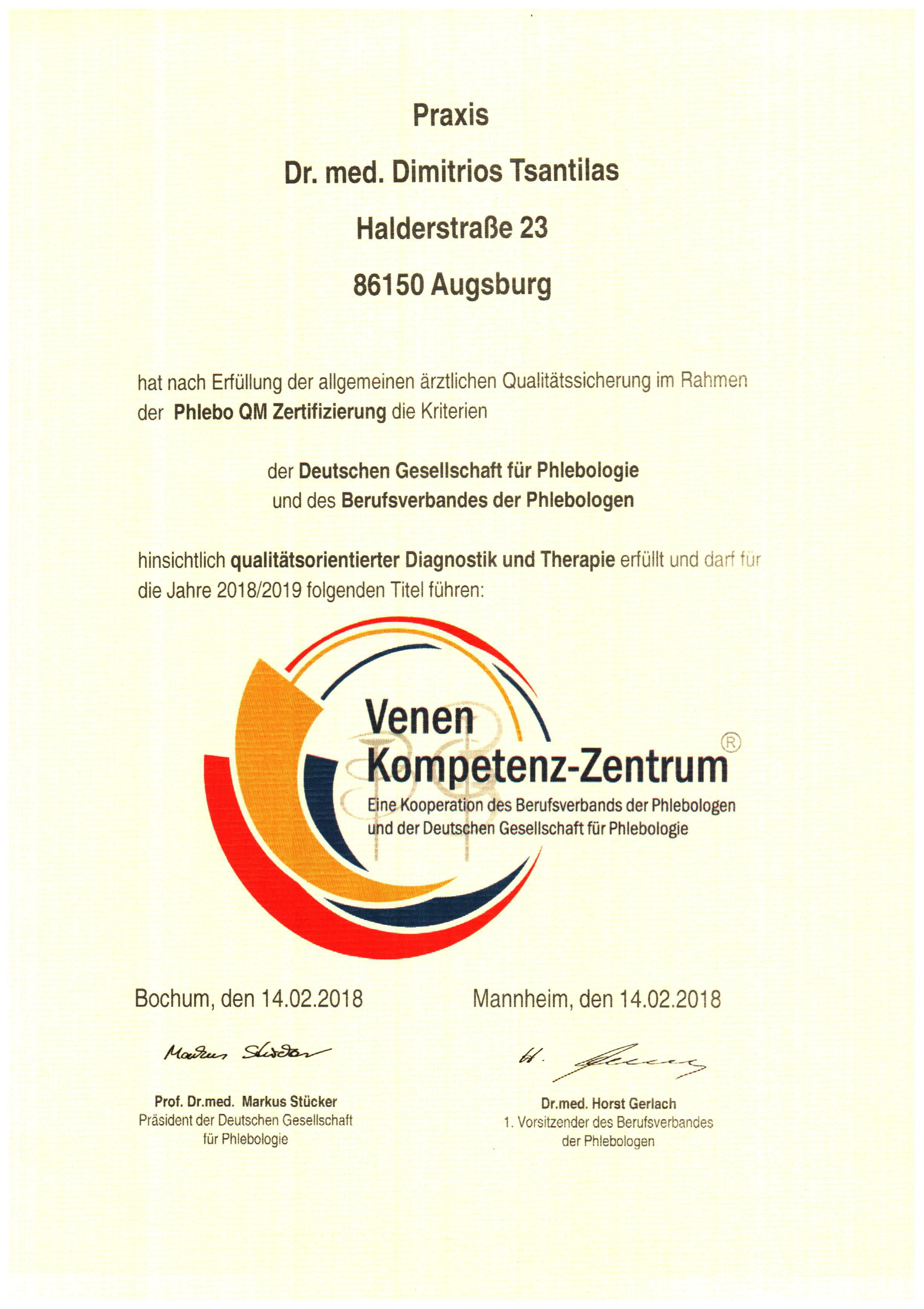 Aktuelles - Praxis für Gefäßheilkunde Augsburg