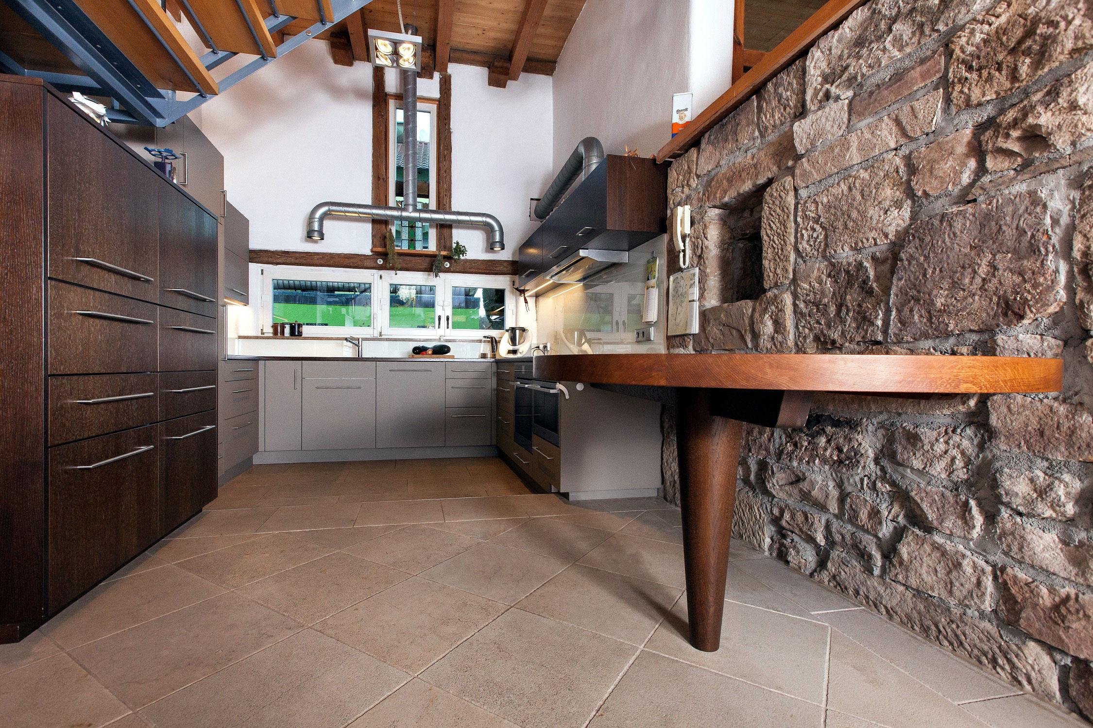 Wohnkuche In Altem Bauernhaus Saur Moebeldesigns Webseite