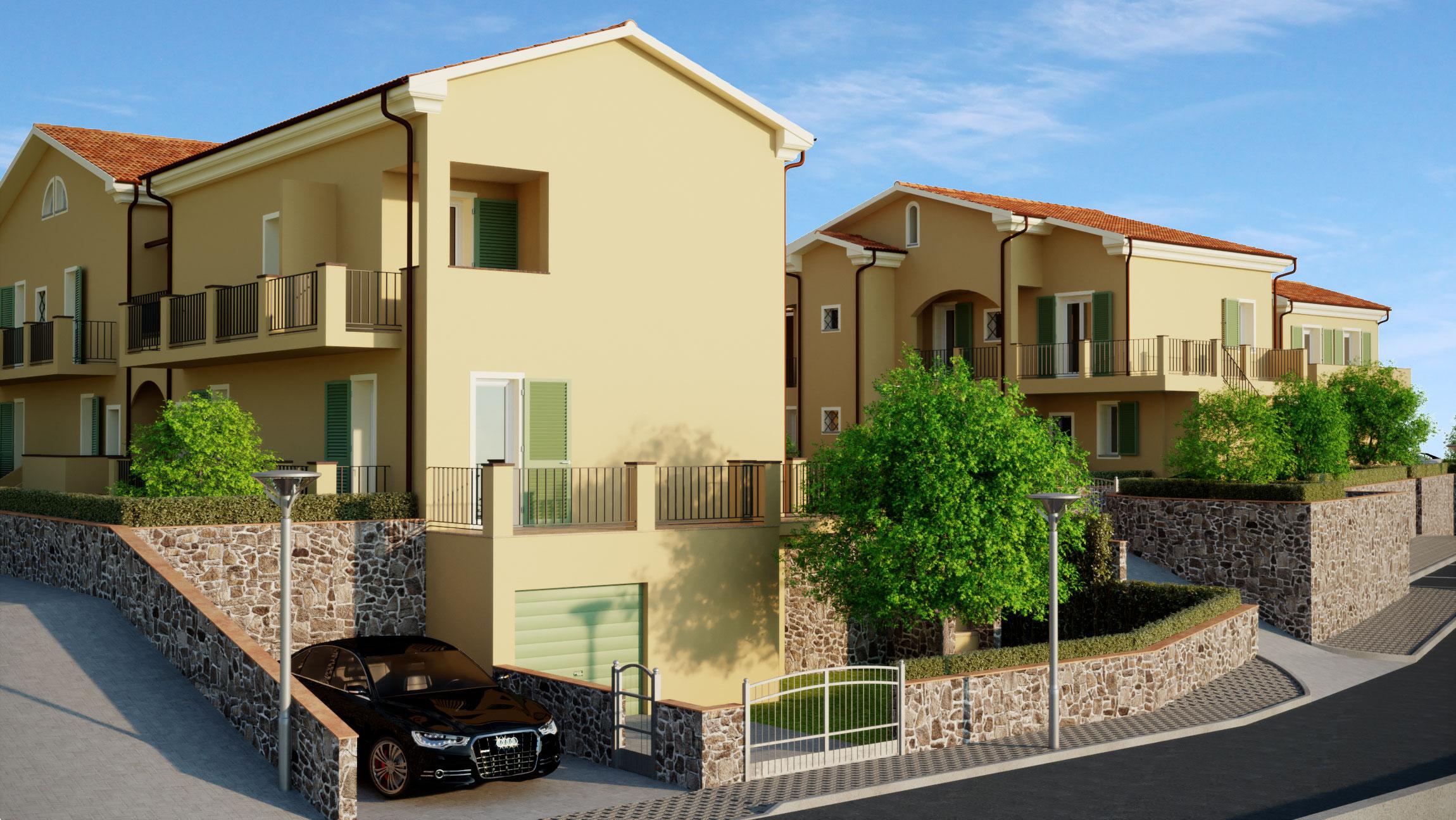 Nuovo complesso residenziale la tua nuova casa a caniparola for Progetta la tua nuova casa