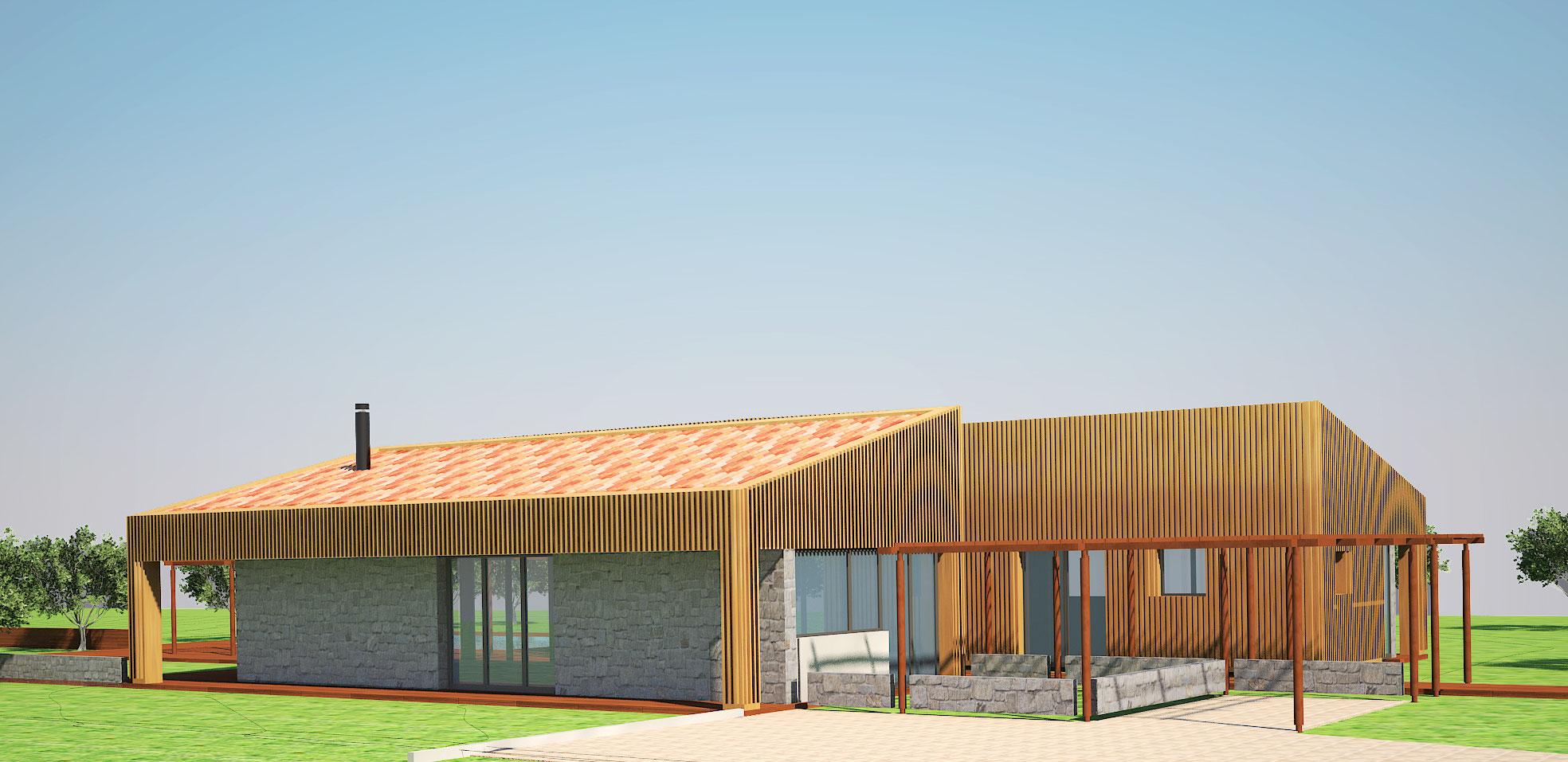 Progetto di una casa unifamiliare a zagarolo benvenuti for Progetto di una casa