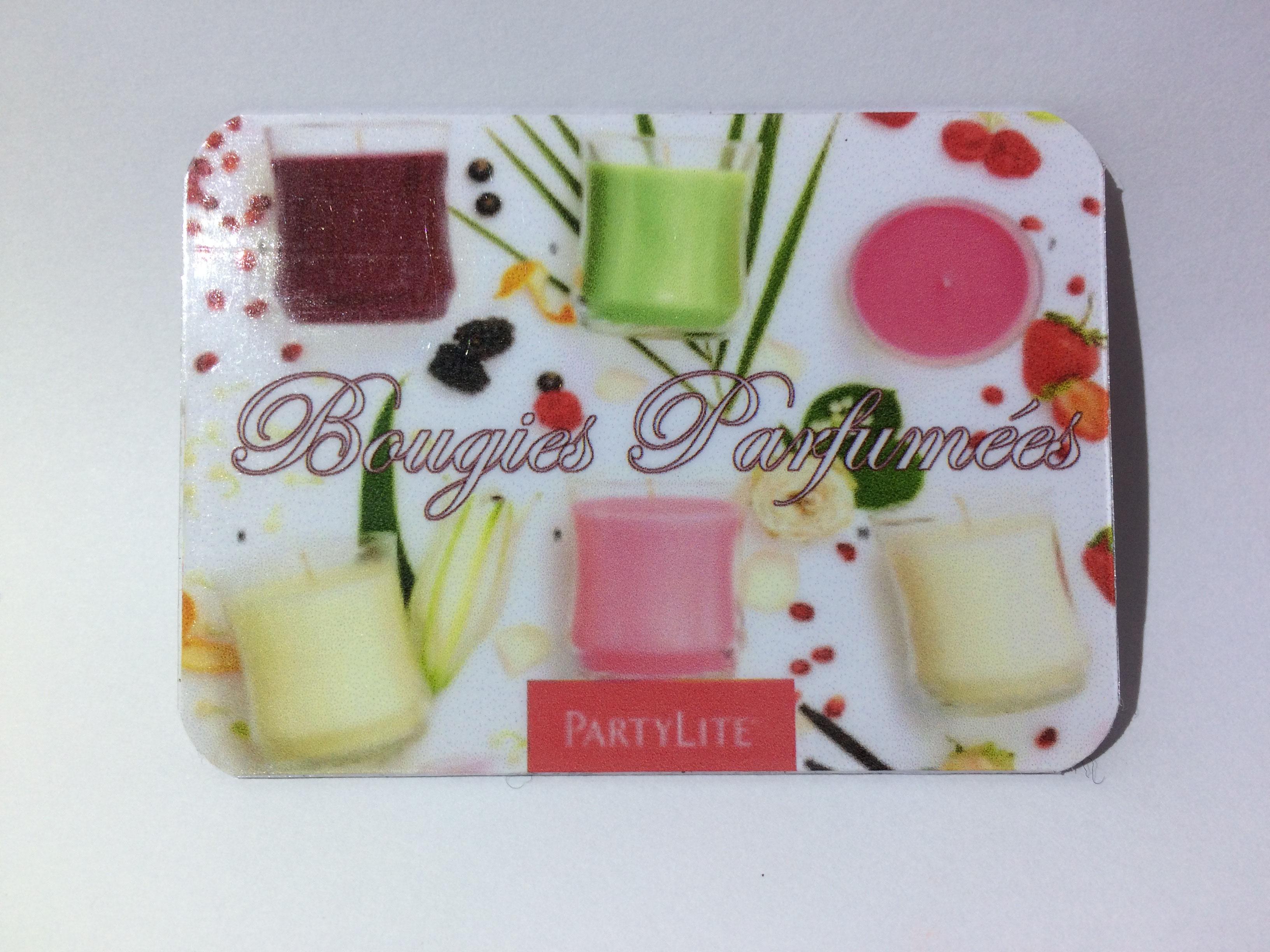 Carte De Visite Bougies Parfumees