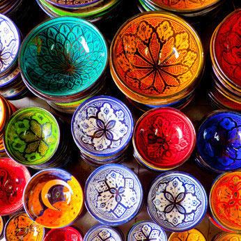 Geschirr aus marokko orientalische wohnaccessoires for Wohnaccessoires stuttgart