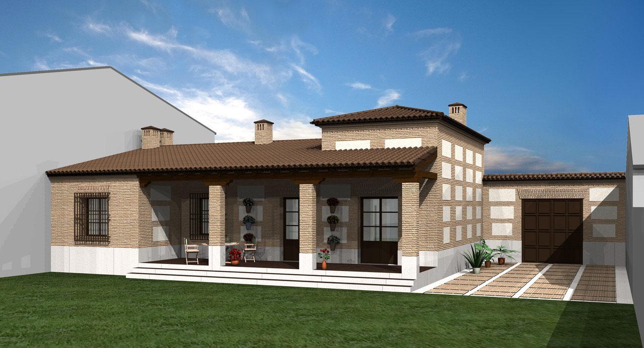 Proyecto rodrigo perez mu oz estudio arquitectura madrid - Estudio arquitectura toledo ...