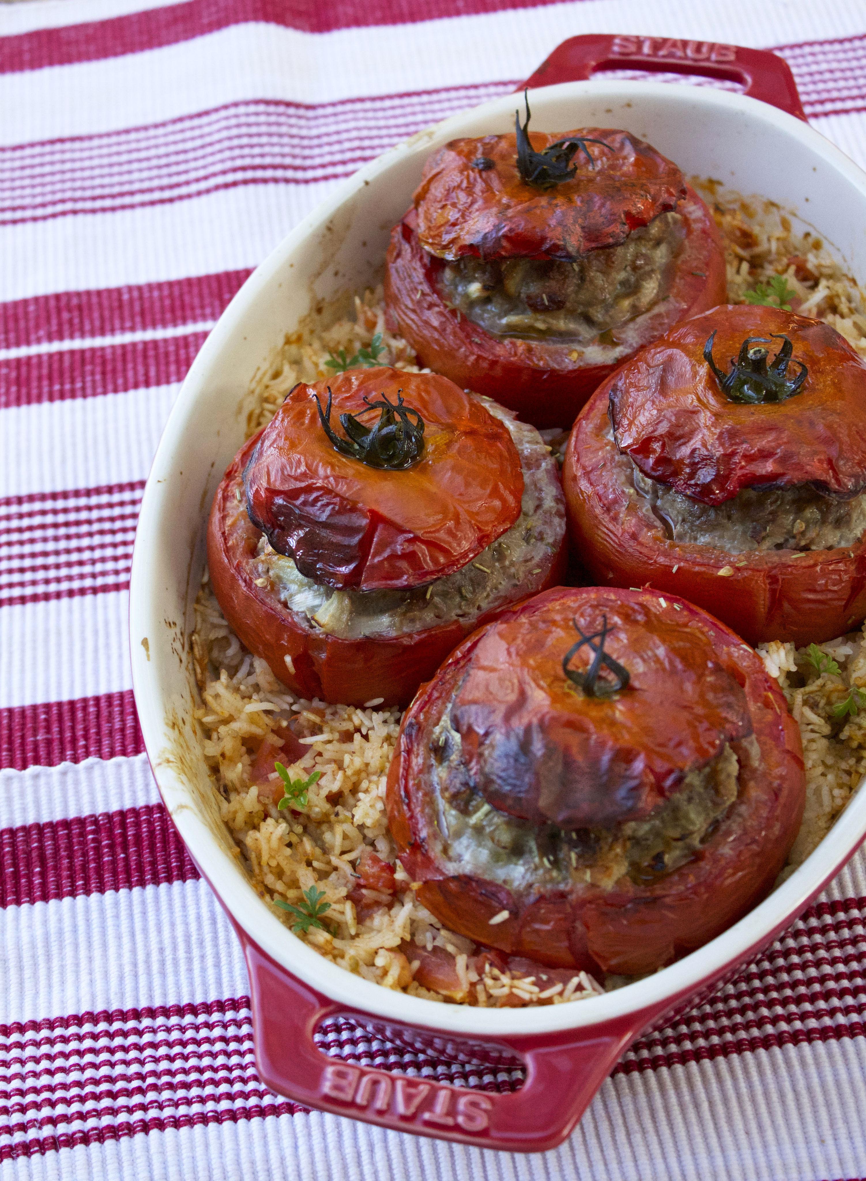 Tomates farcies à l'ancienne - Lady Coquillette - Recettes ...