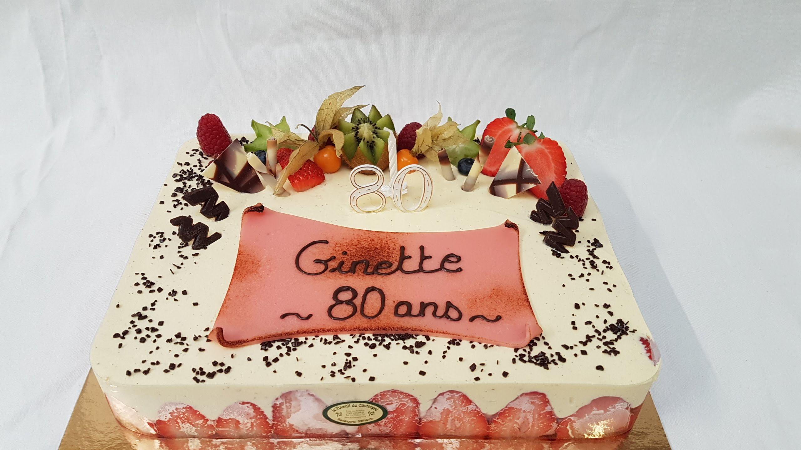 Christmas cake - Site de boulangerie-vd.fr