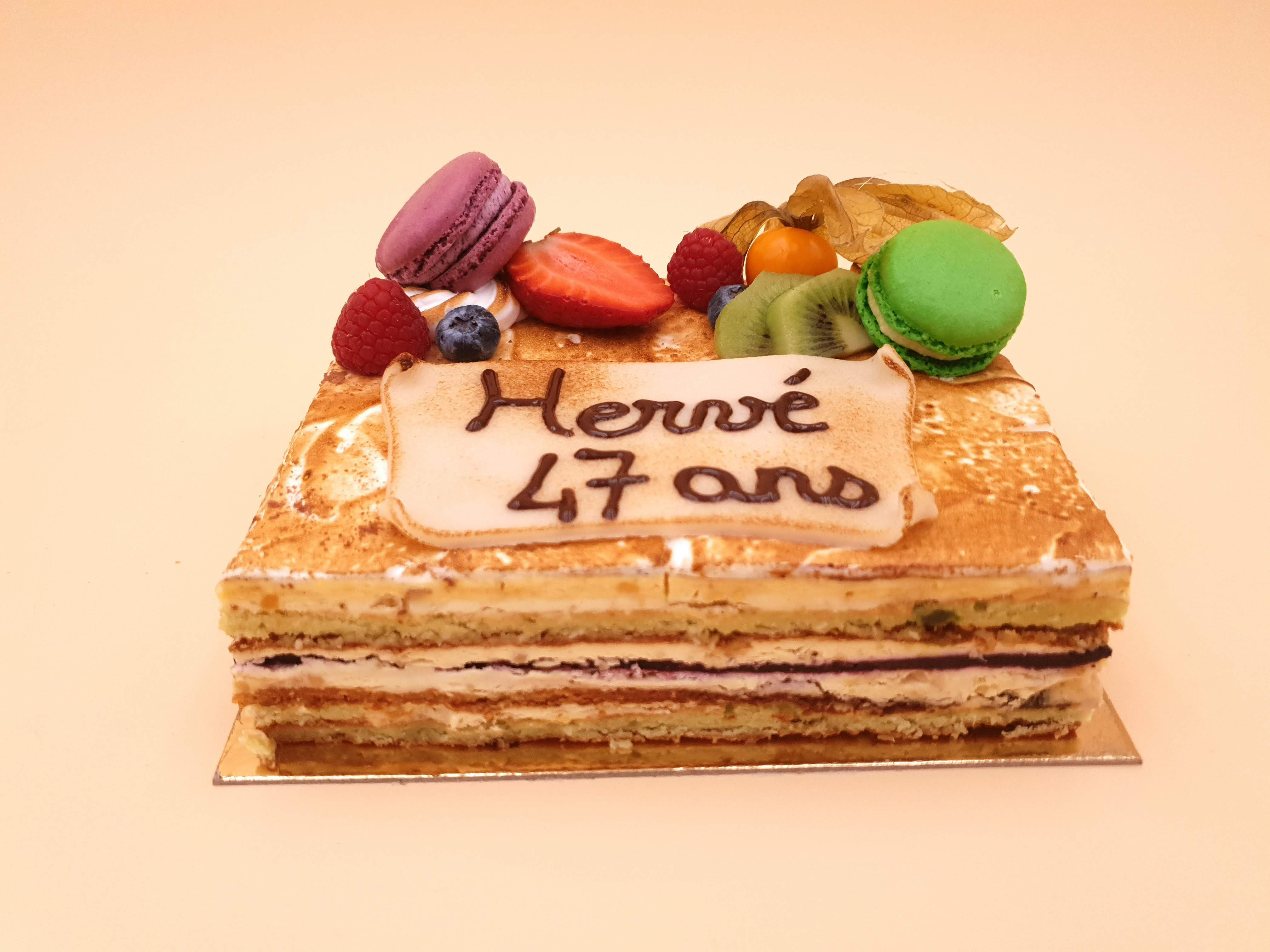 Number cake - Site de boulangerie-vd.fr