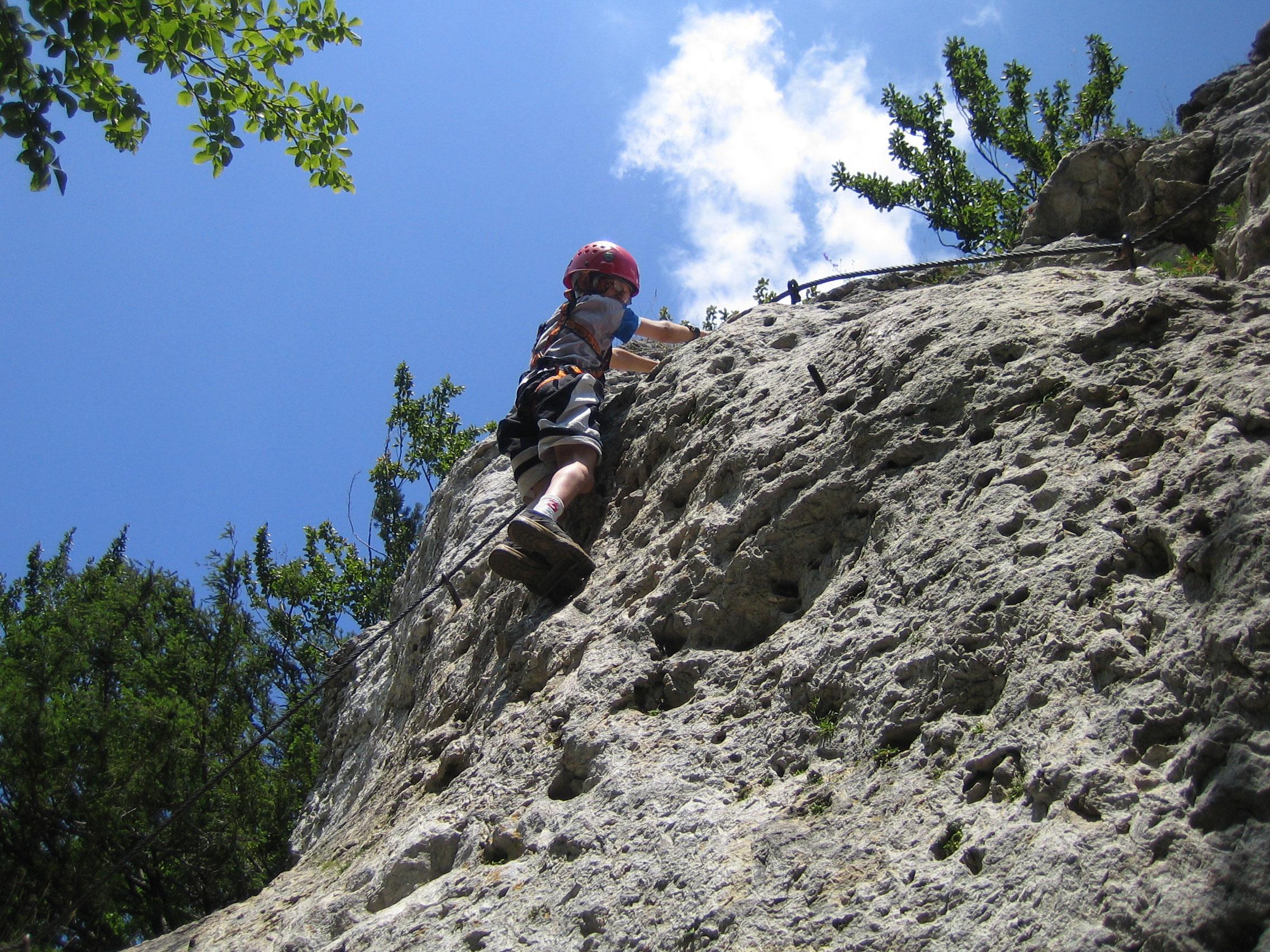 Klettersteig Höhenglücksteig : Die schönsten klettersteige in hirschbach