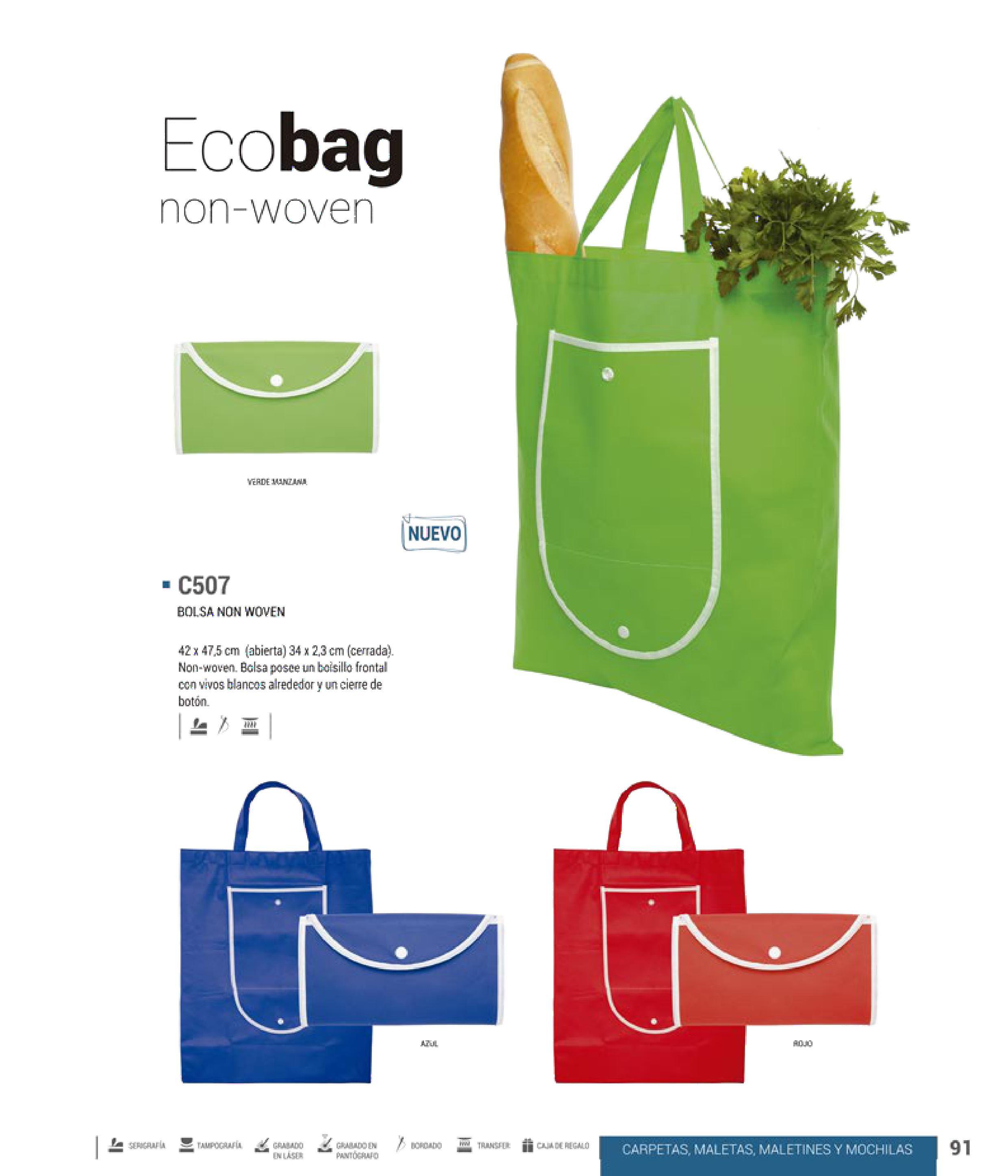 2de2f7114 Bolsas Ecológicas Promocionales, Bolsas Ecológicas para el super, Bolsas  Ecológicas Mayoreo, Bolsas Non Woven Querétaro - Precio, calidad y  servicio, ...