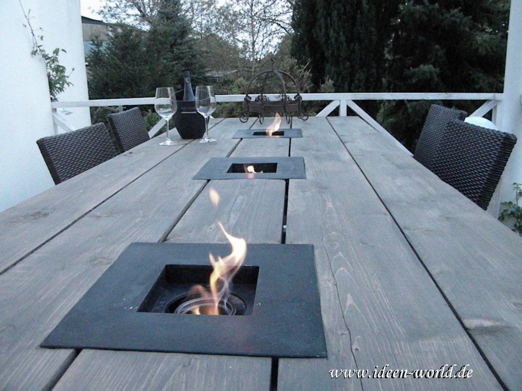 Tisch/Unikate - www.ideen-world.de Holz Deko Tisch Möbel Unikate