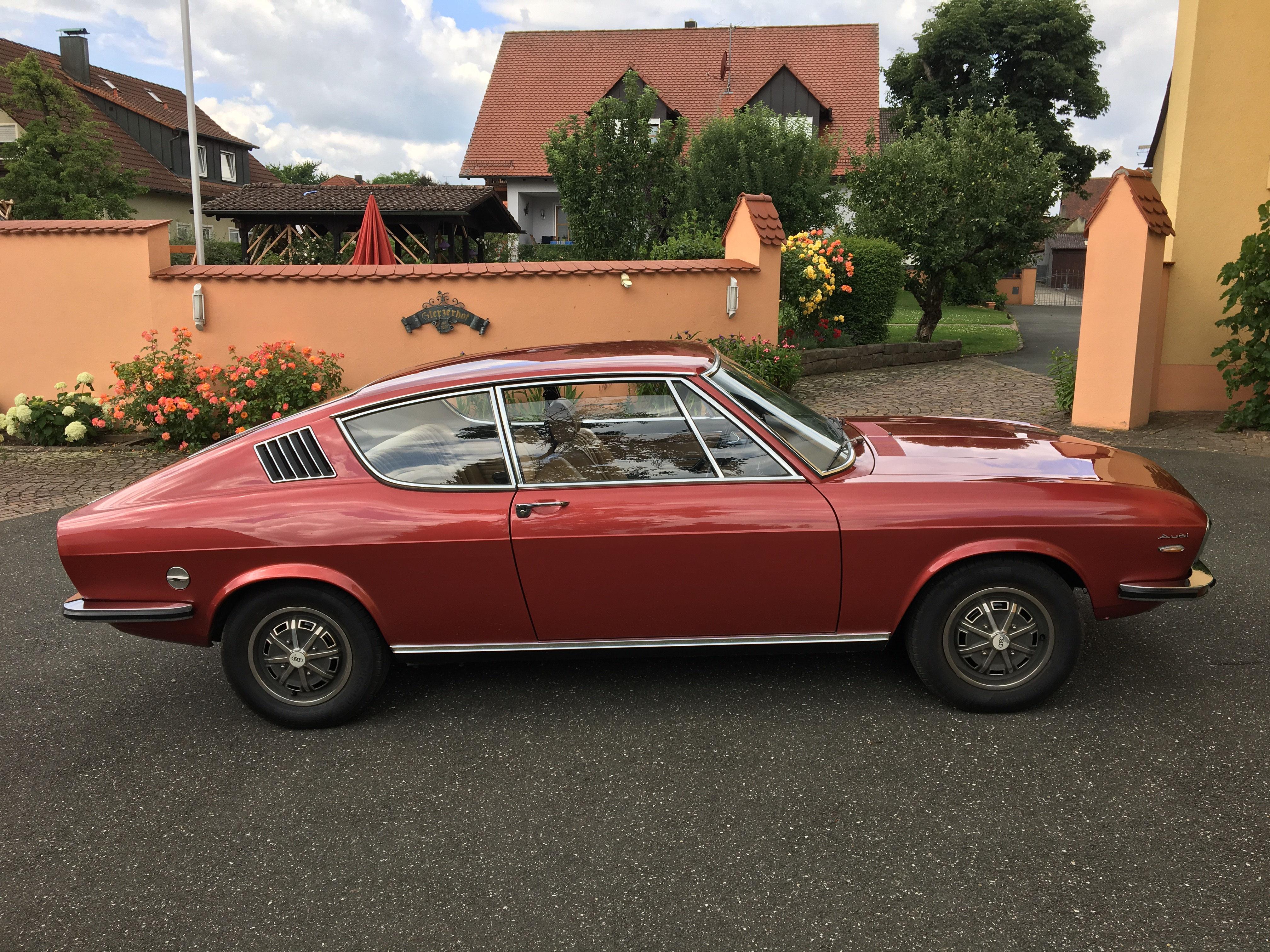 Audi 100 Coupe S 1972 - www.mobile-fahrkultur.de