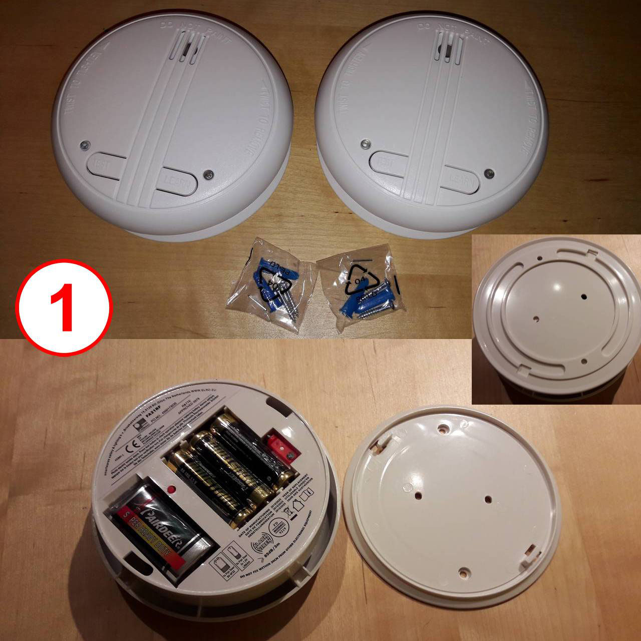 smartwares smarthome funk rauchmelder 2 er set vernetzbar shs 32000 eu kim bottenhorn. Black Bedroom Furniture Sets. Home Design Ideas