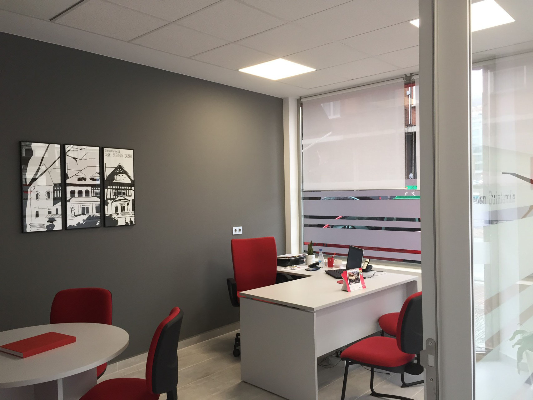 Oficina seguros bilbao estudio arkobi arquitectura interiorismo reformas bizkaia - Estudios arquitectura bilbao ...