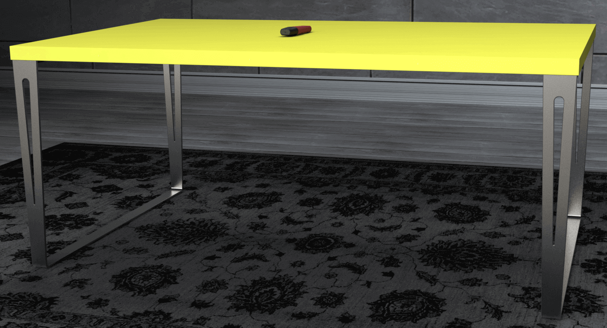 Pied de table design en inox made in france prix d - Cuisine a prix d usine ...