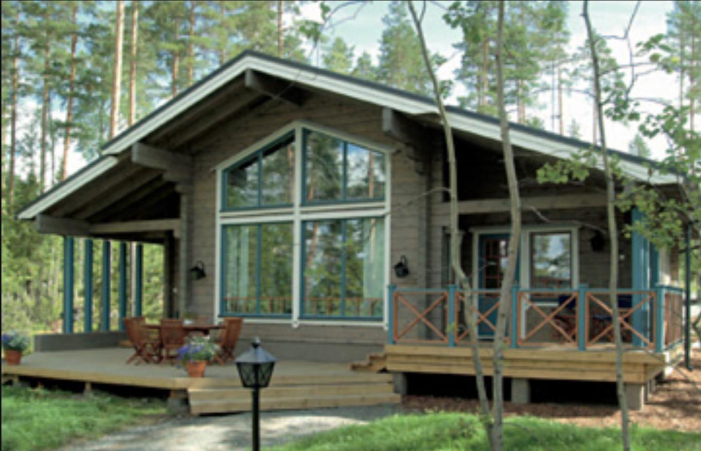 Casas rurales de madera casas de madera honkamajat natur - Casas rurales de madera ...