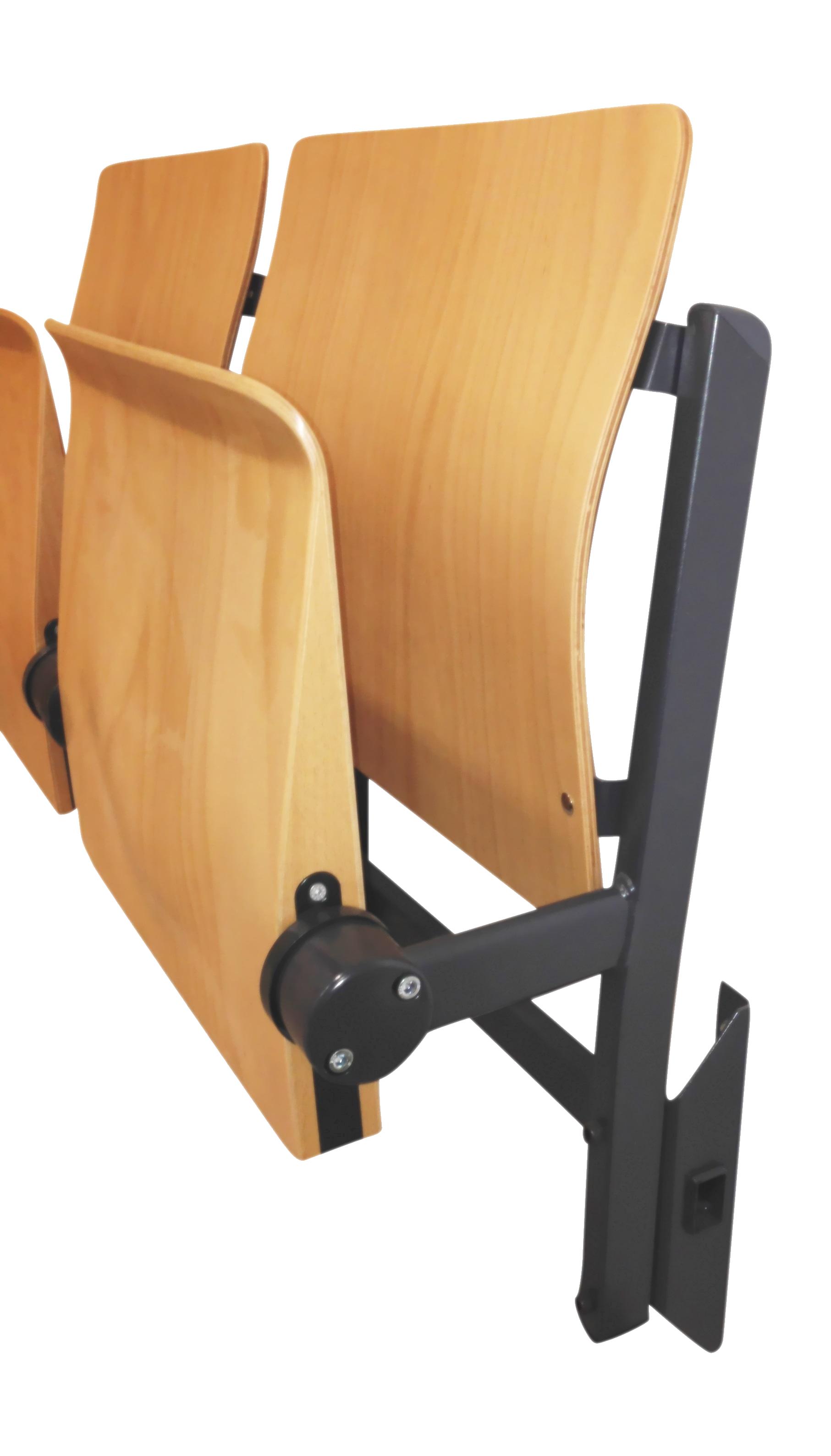 Wandklstuhl Klstuhl FÜr Wandmontage Hörsaalbestuhlung Hörsaalgestühl Wandklsitz
